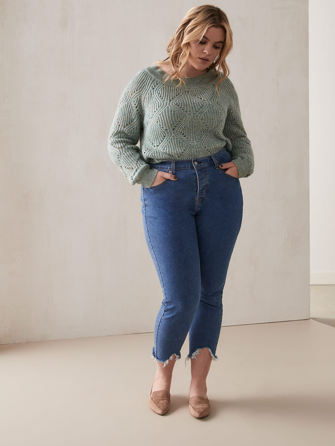 Stretchy High-Waisted Wedgie Skinny Jean - Levi's Premium
