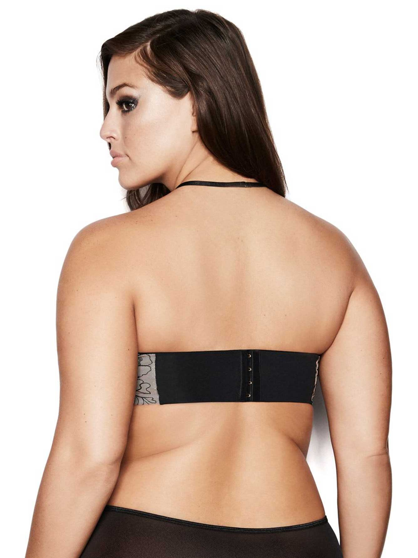 Ashley Graham Phenomenon Convertible Bra with Choker