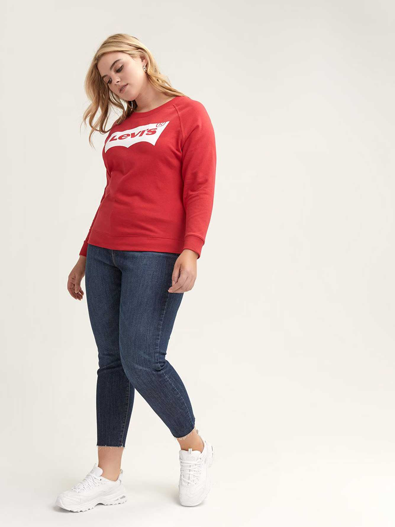 Levi's Graphic Red Crew-Neck Sweatshirt