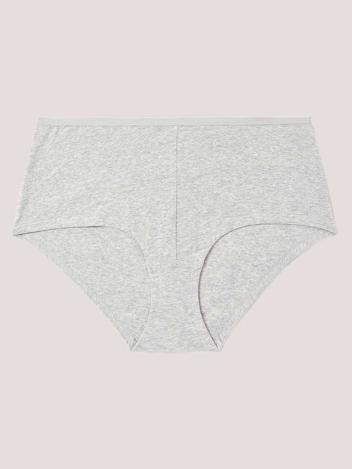 Heathered Boxer Panty - Déesse Collection