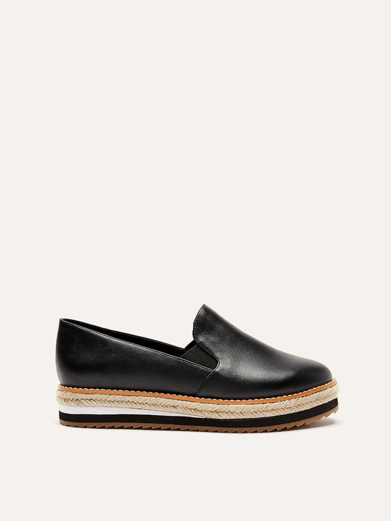 Wide Platform Loafers