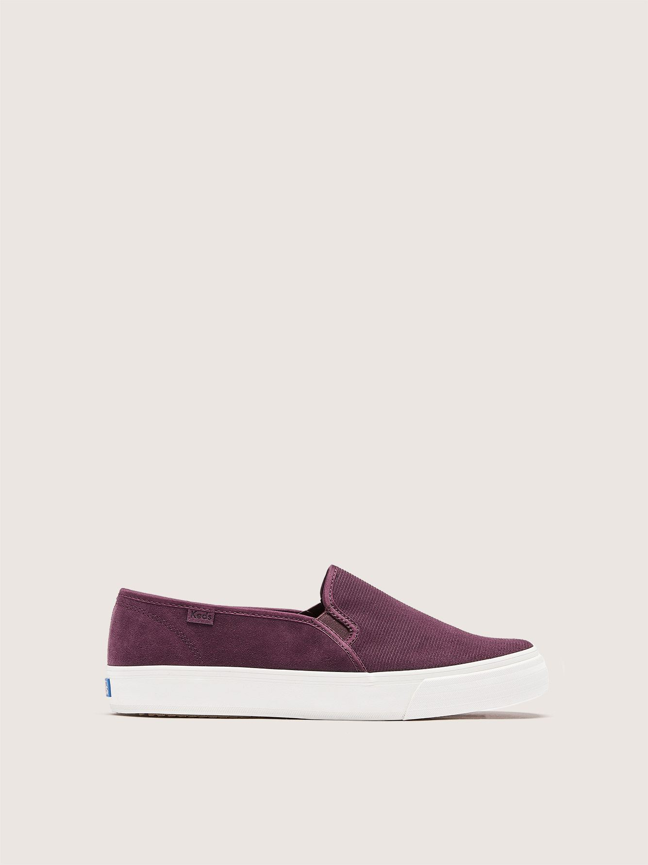 Keds, Double Decker - Wide Width Slip On Sneakers