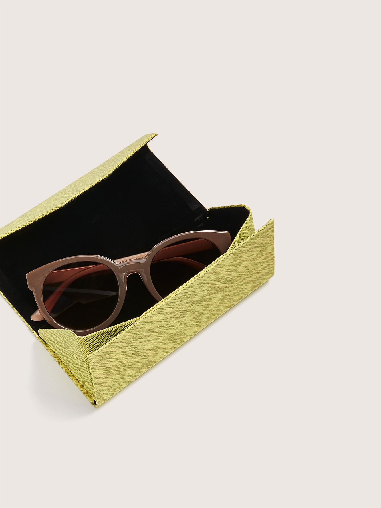 Compact Folding Sunglasses Pouch - Addition Elle