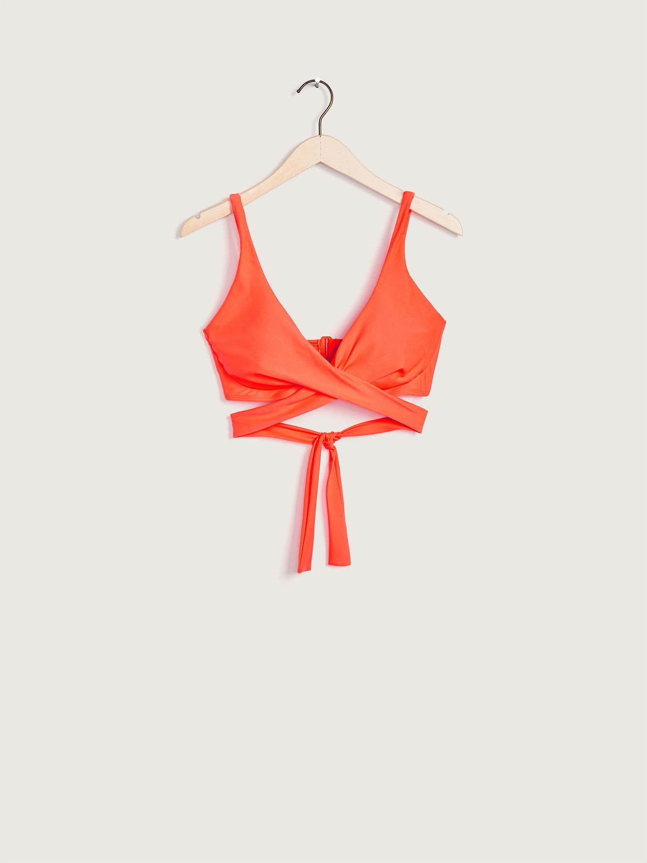 Cross Front Smoothies Bikini Top - Body Glove