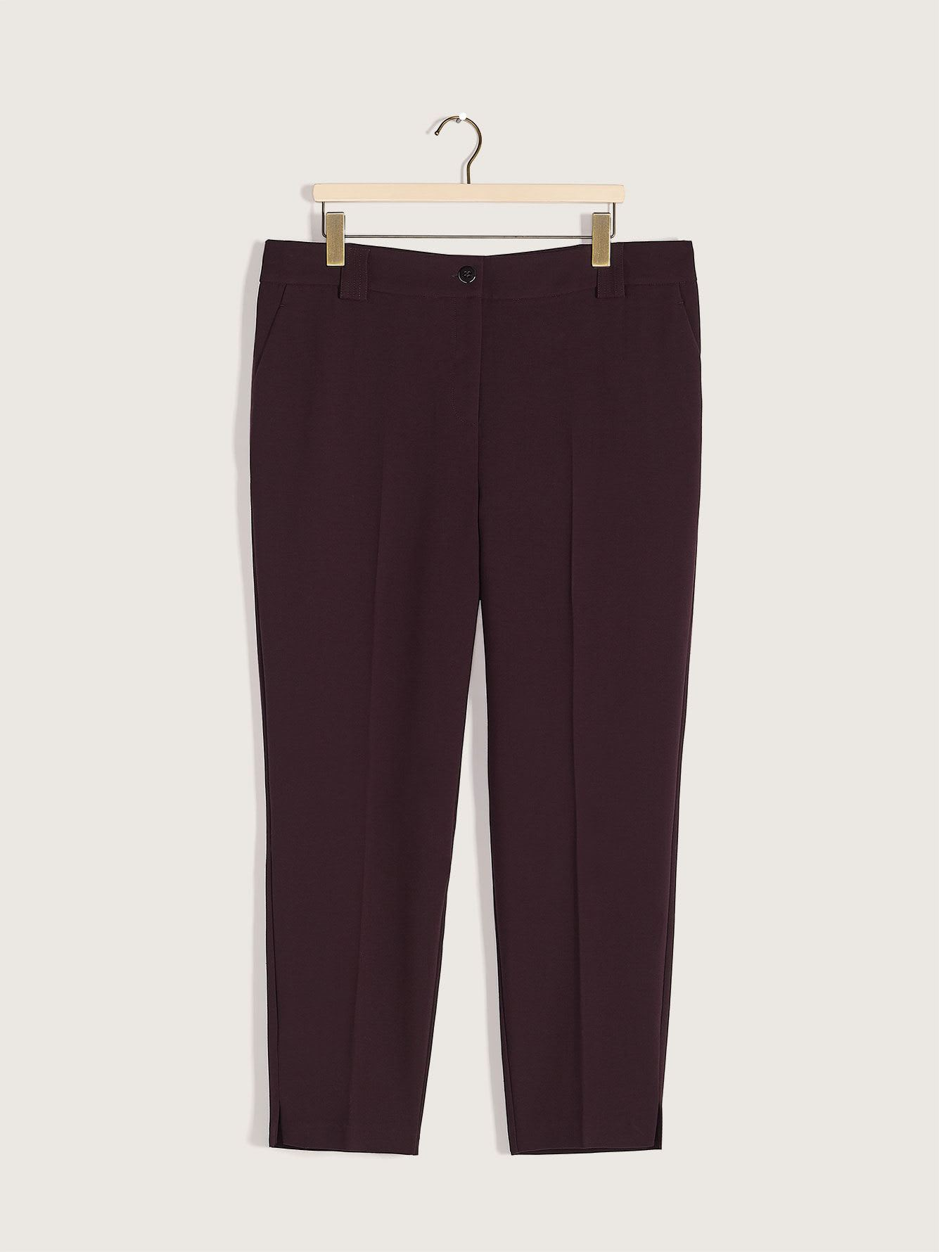 Solid Ankle Pant - Addition Elle