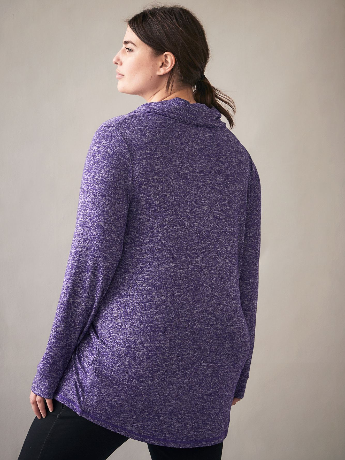 Long-Sleeve French Terry Pullover - ActiveZone