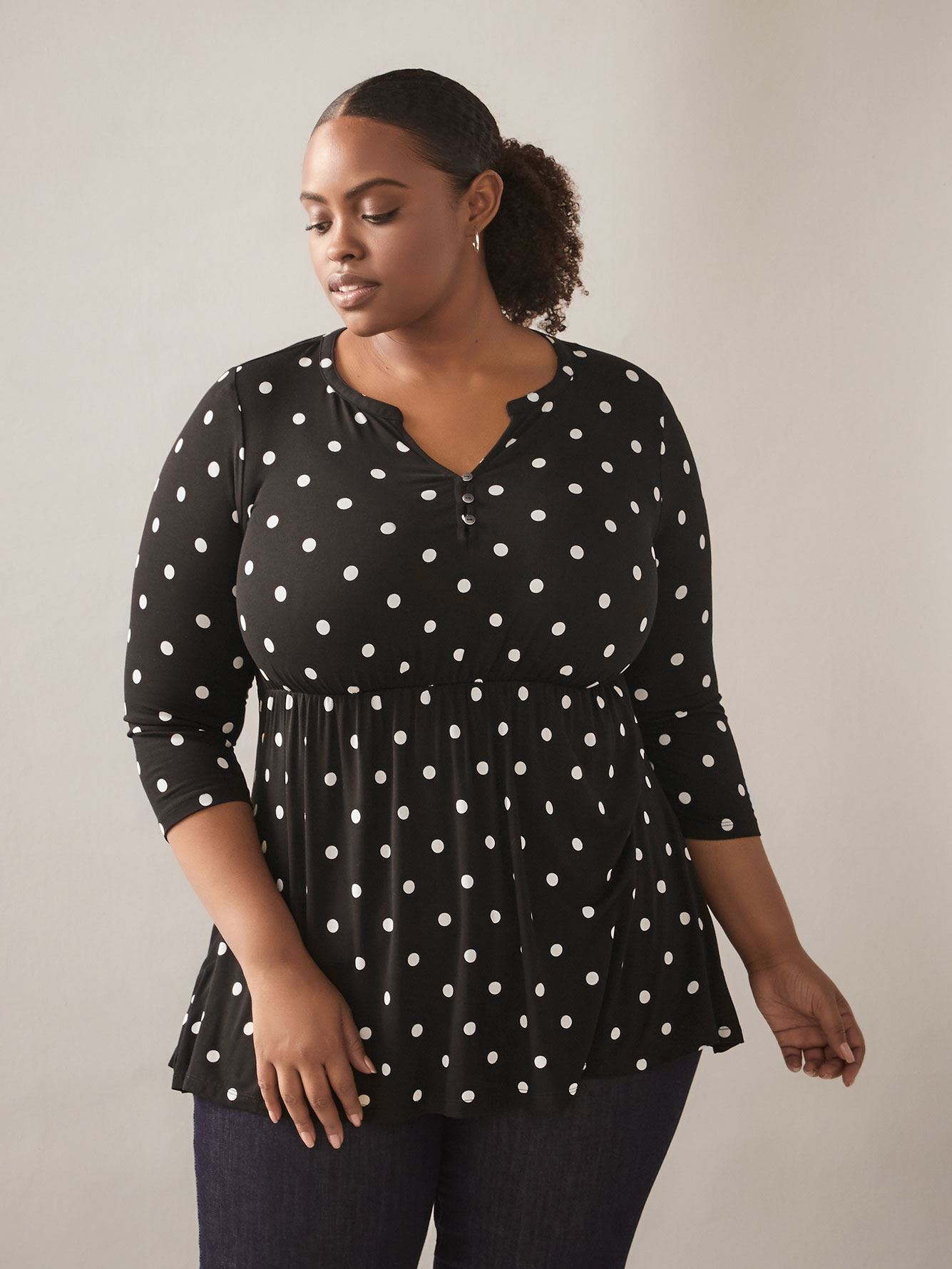 Empire-Waist Tunic Top - In Every Story