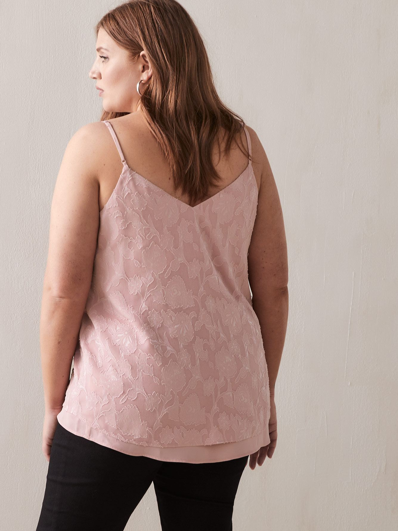 Double Layer V-Neck Camisole