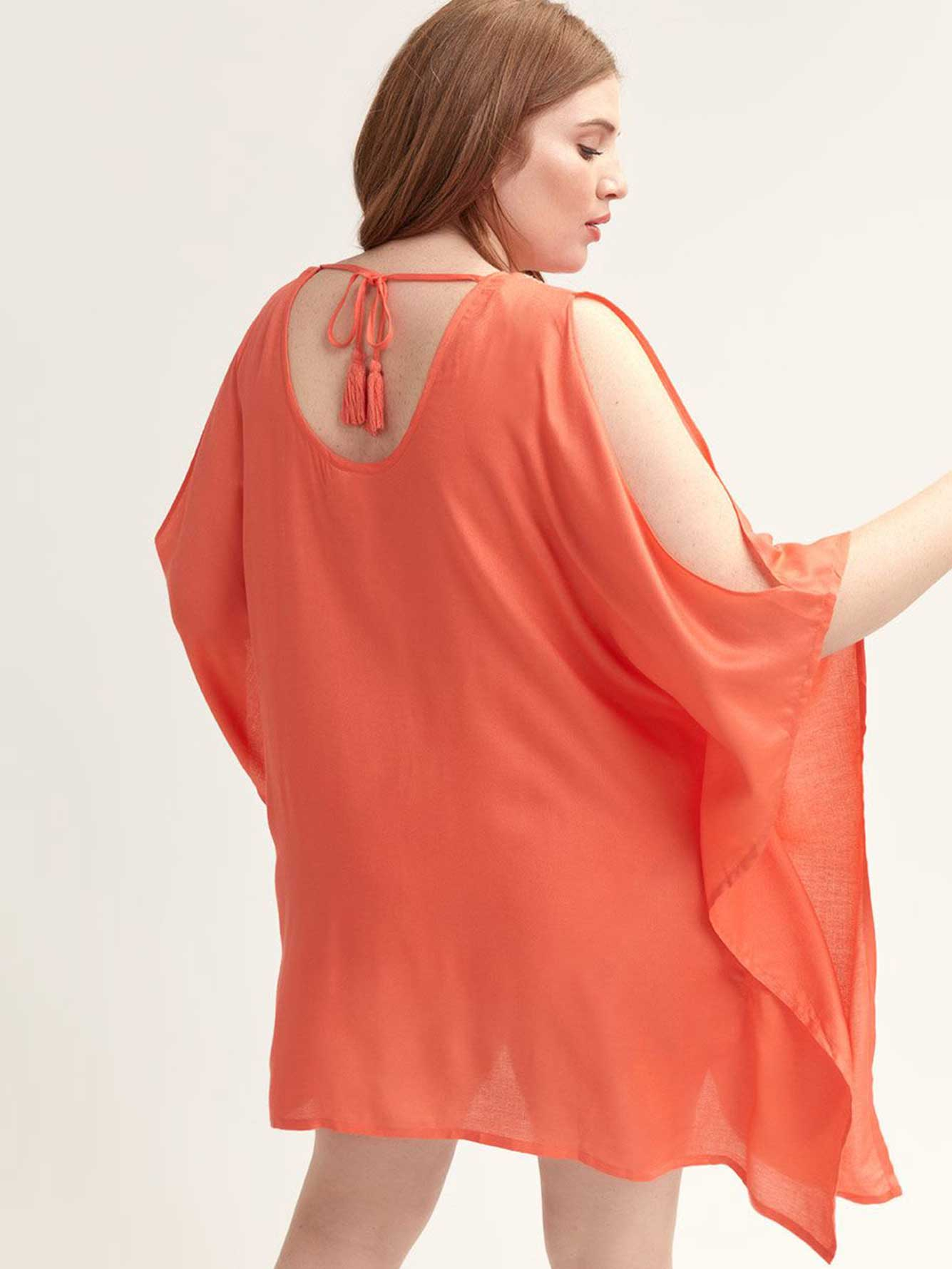 Solid Cover-Up Tunic - Lucky Brand