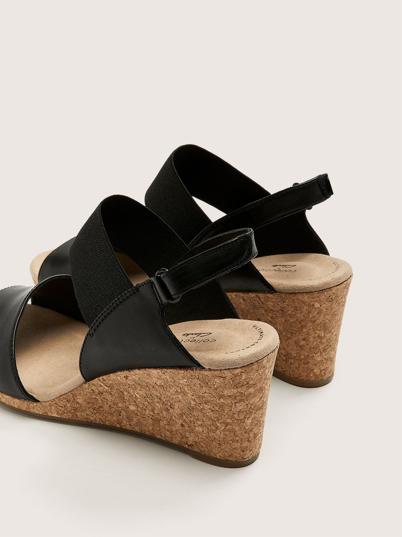 Wide Lafley Lily Wedge Sandal - Clarks