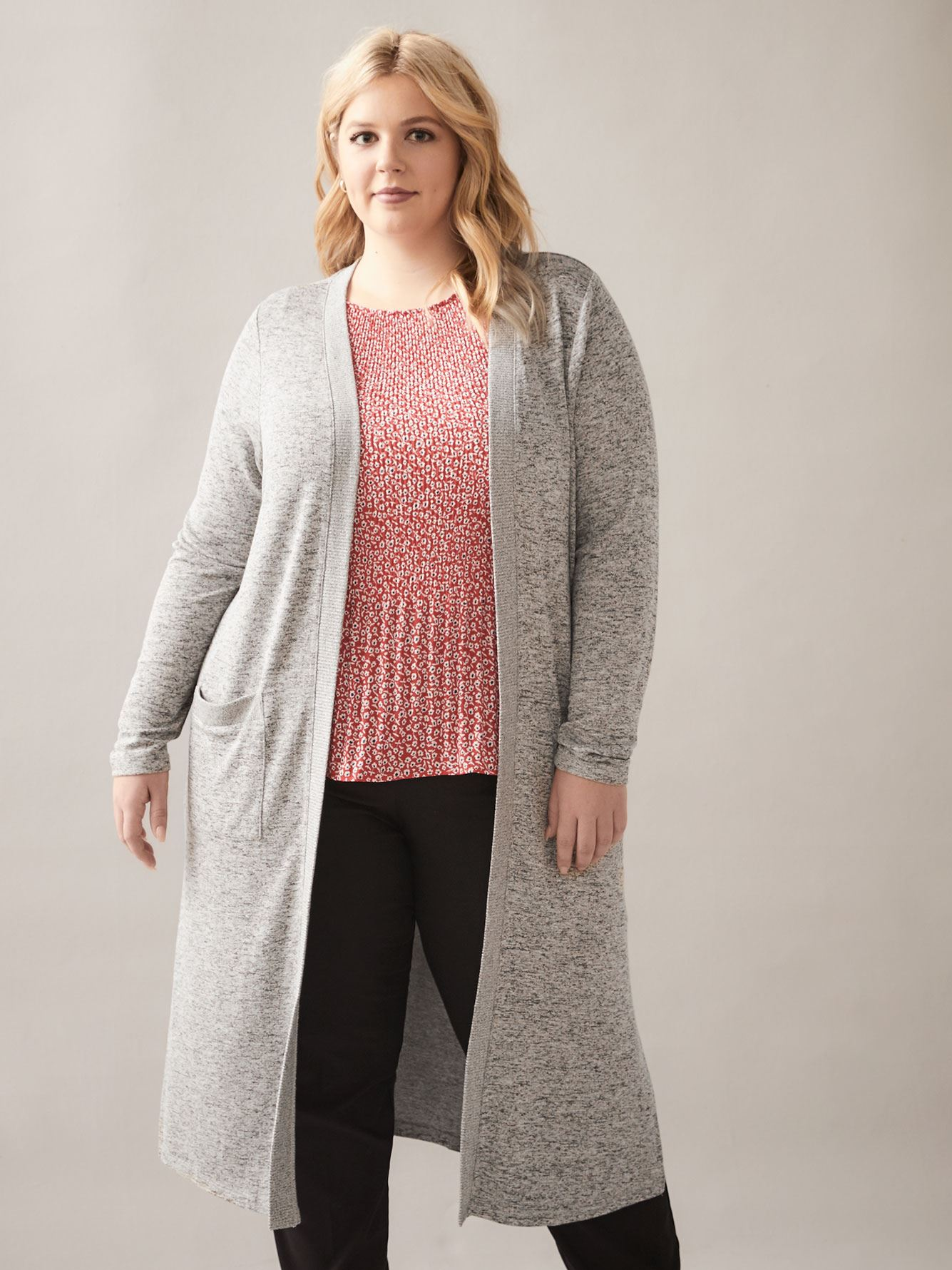 Long Open-Front Cardigan - In Every Story