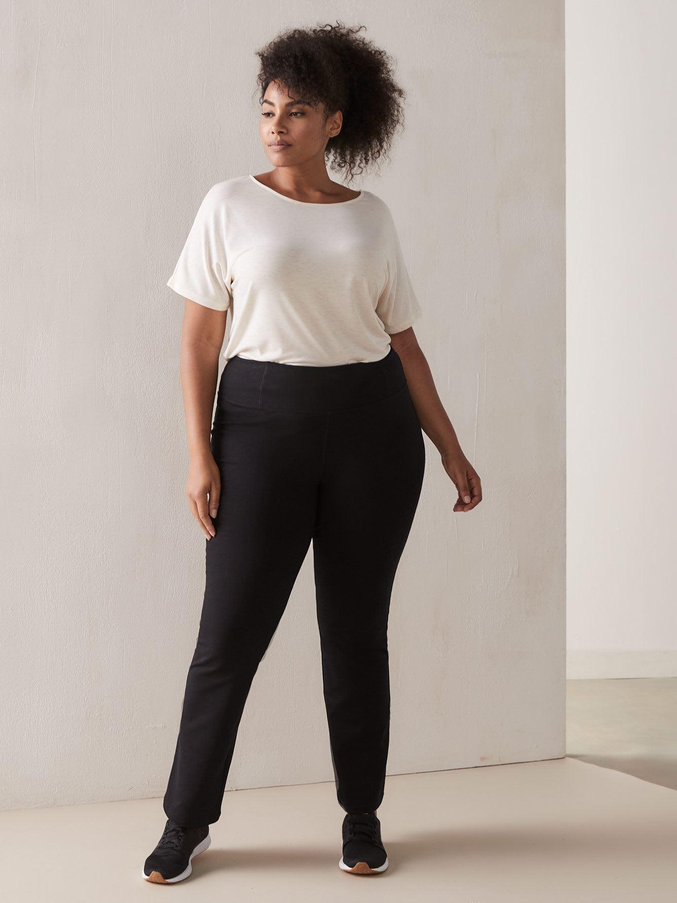 Pantalon yoga basique noir - ActiveZone