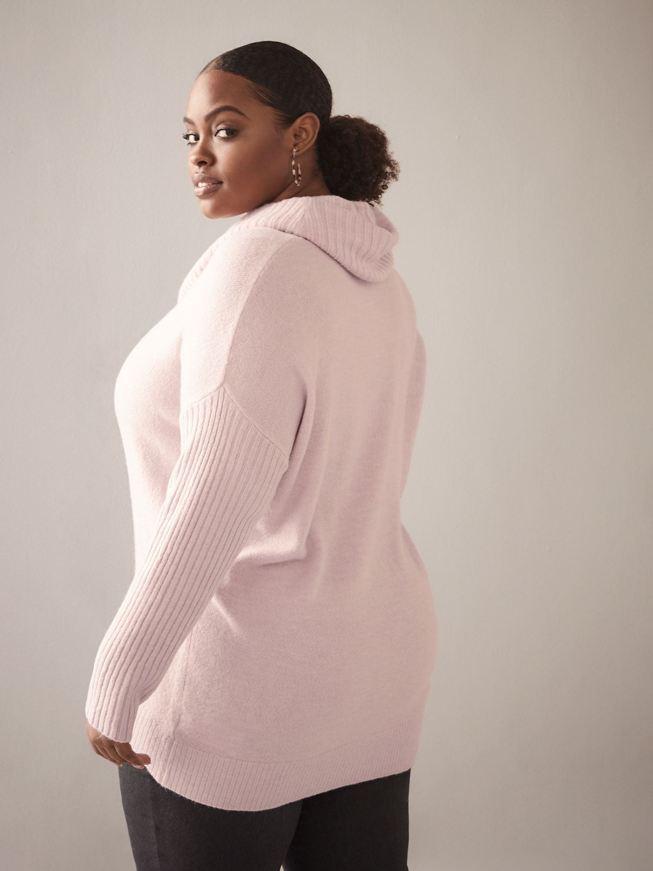 Cowl-Neck Sweater - In Every Story