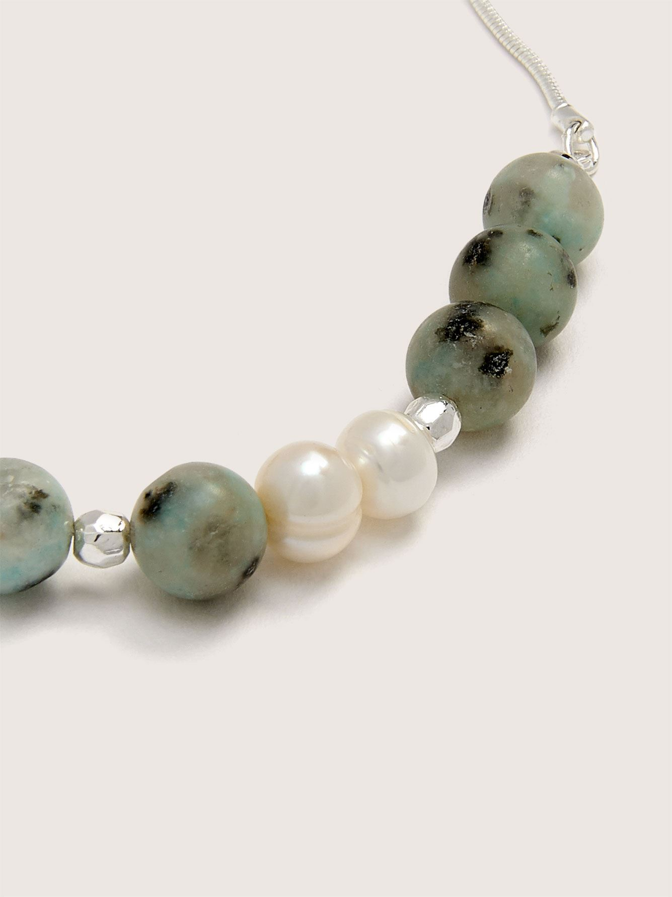 2-Pack Bracelets with Semi-Precious Stone - Addition Elle