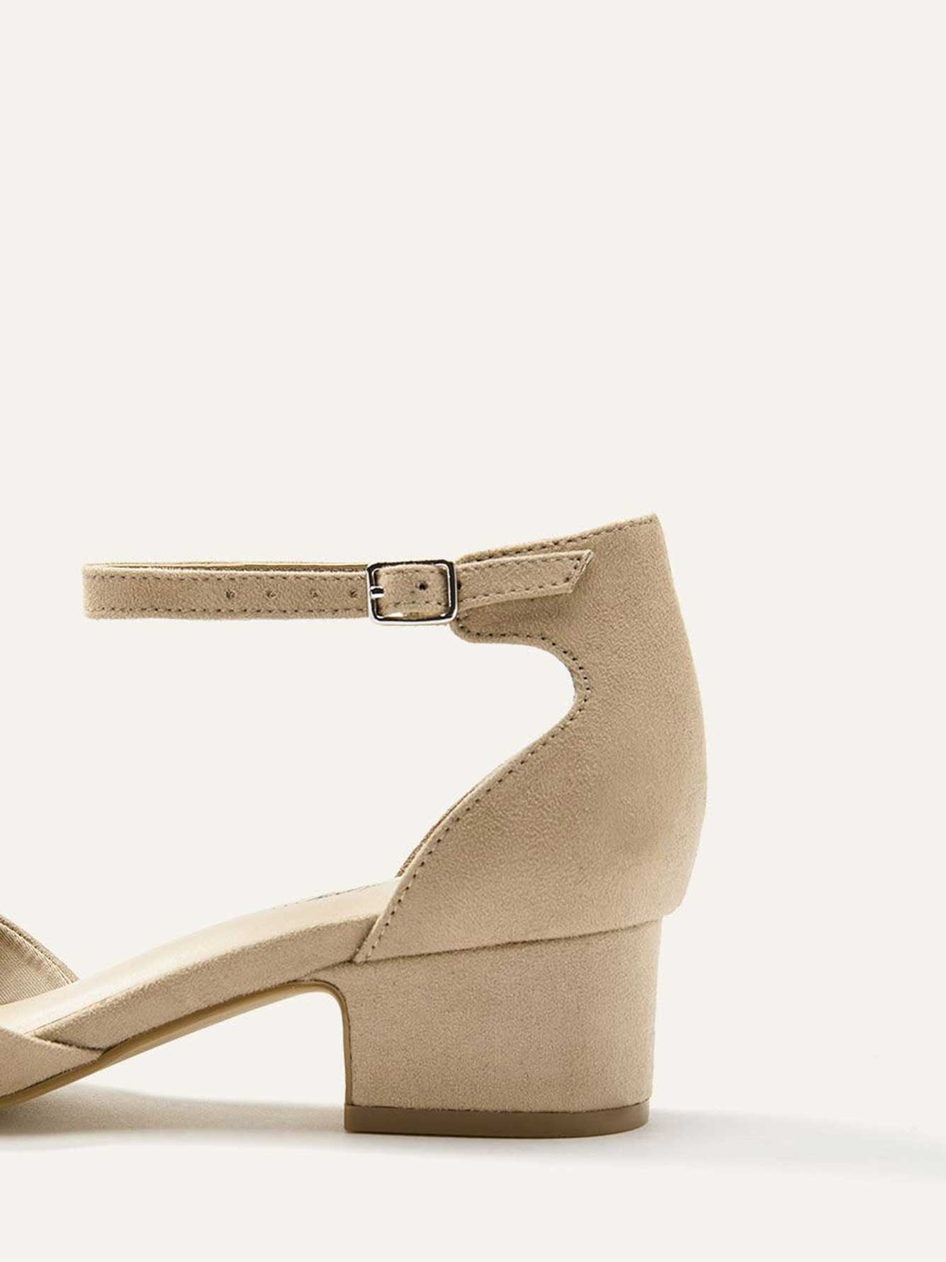 Wide Ankle Strap Heels