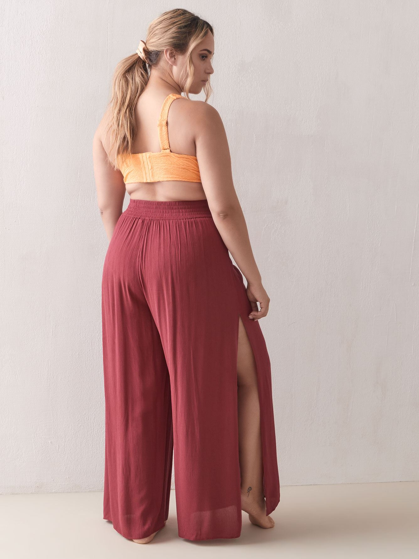Cover Up Wide Leg Pants - Addition Elle