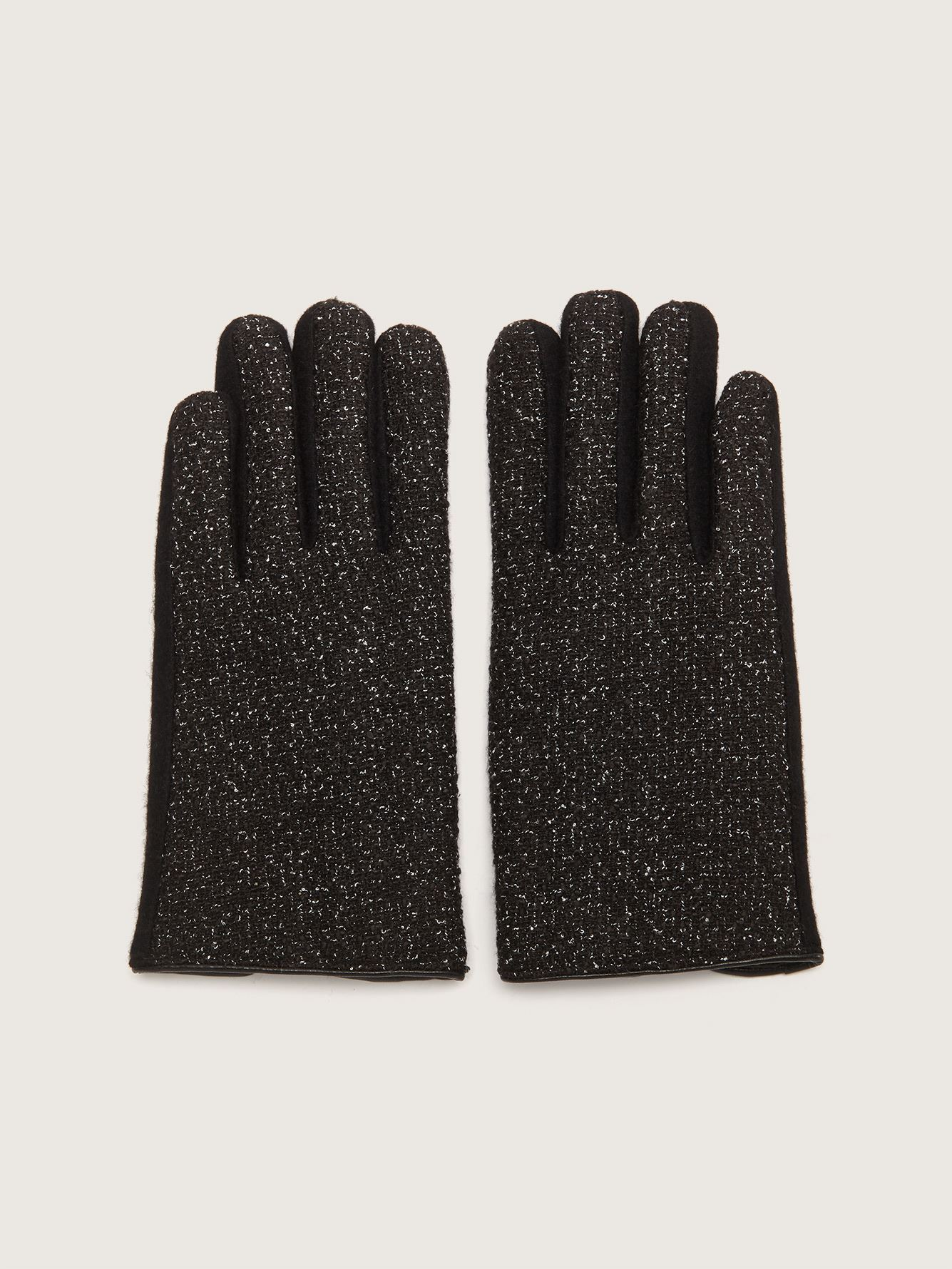 Touchscreen Mix Media Gloves - Addition Elle