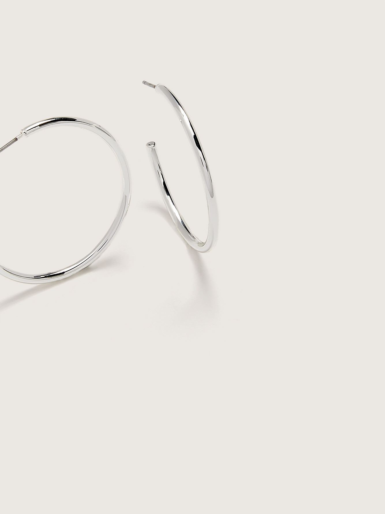 Large Classic Hoop Earrings - Addition Elle