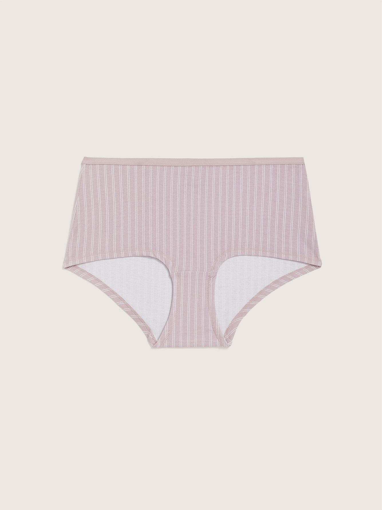 Striped Boyshort Panty - Addition Elle