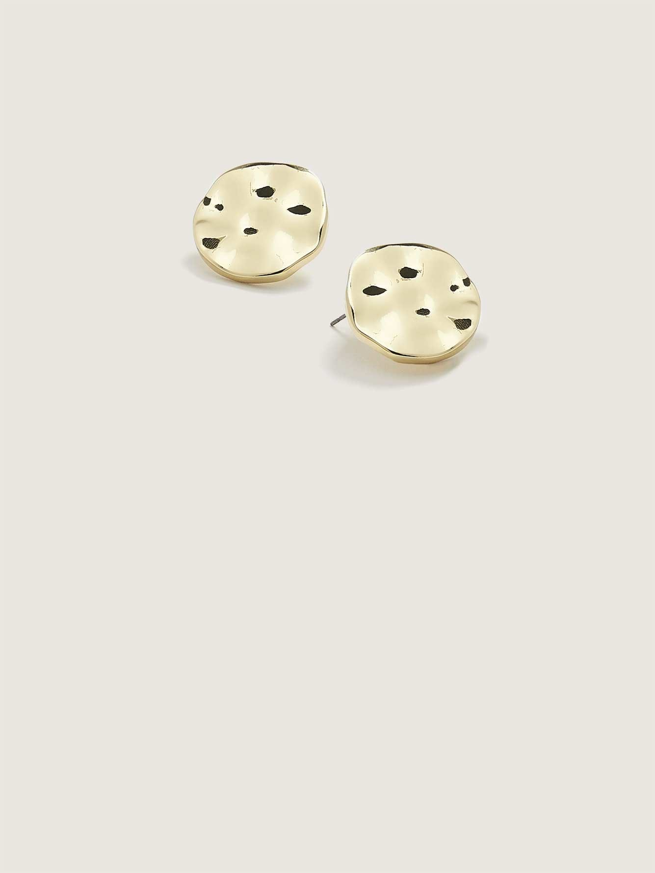 Shiny Round Earrings