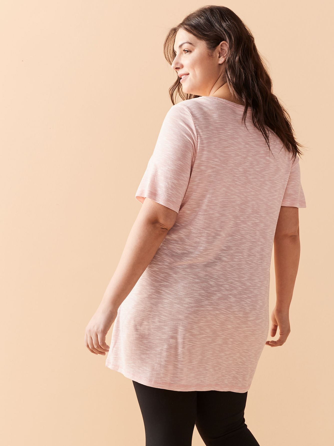 Short Sleeve Tunic T-Shirt - ActiveZone