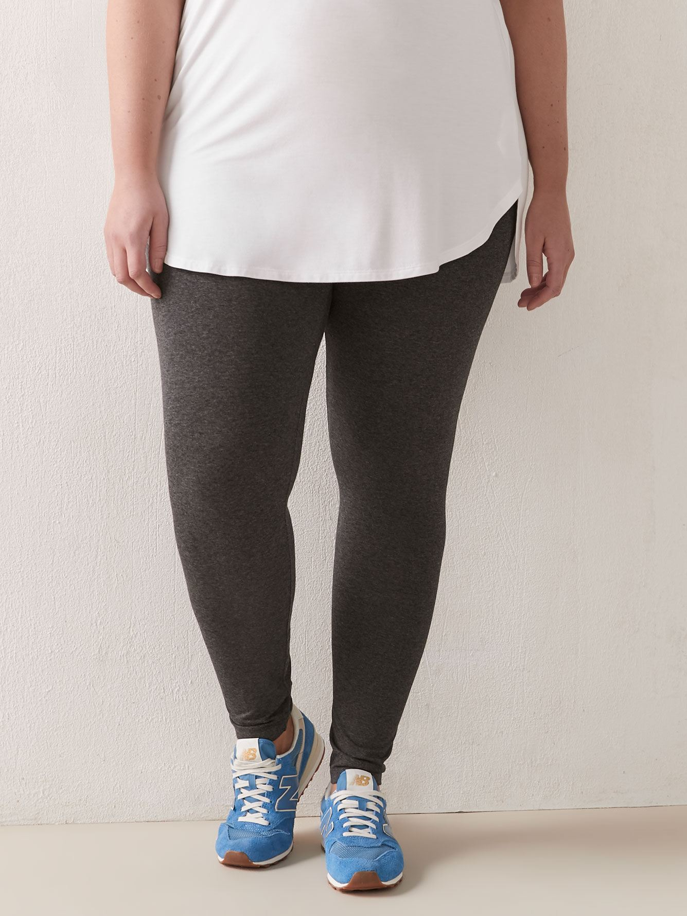 Solid Legging - Addition Elle