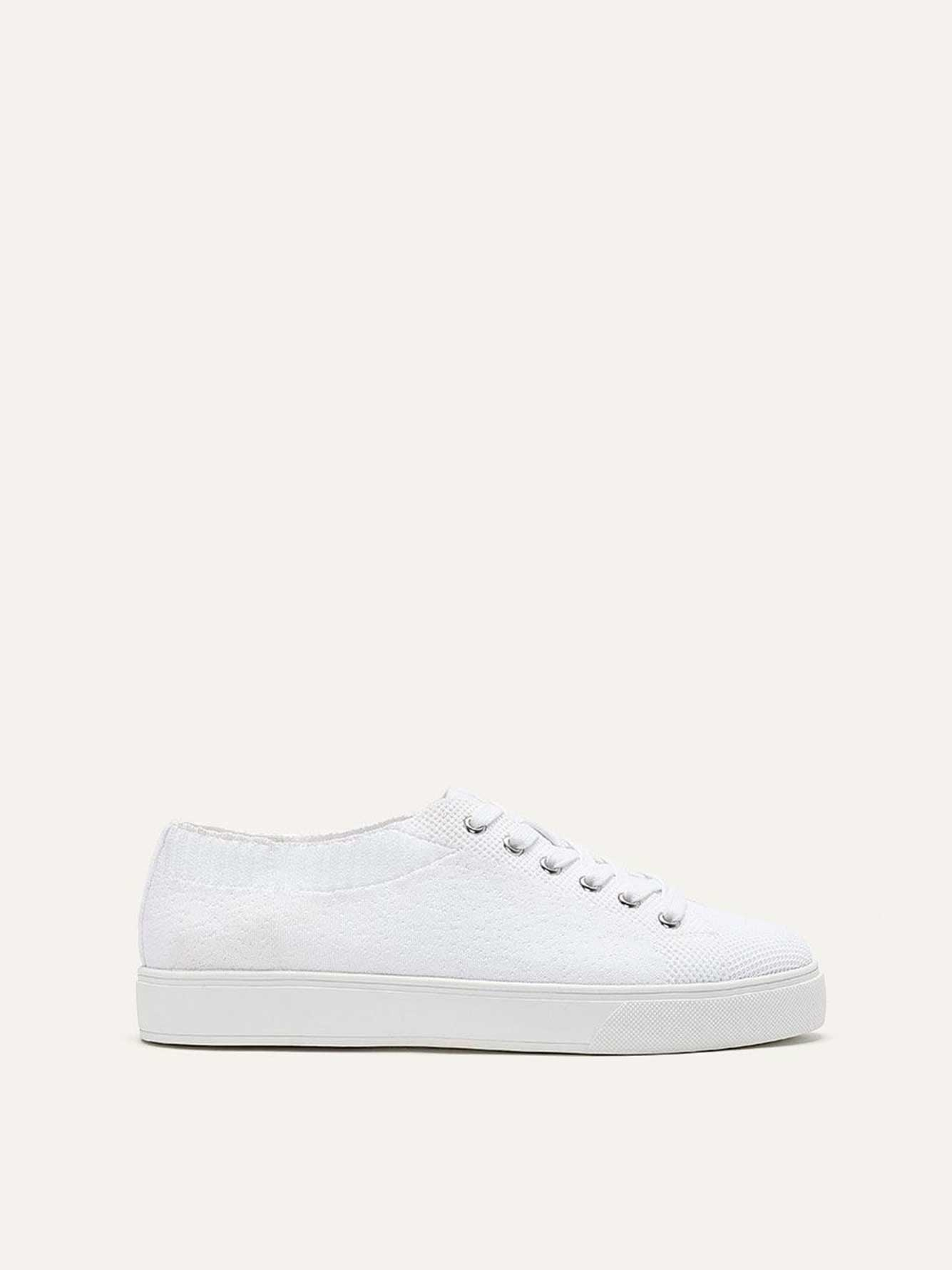 Wide Lace Up Sneakers