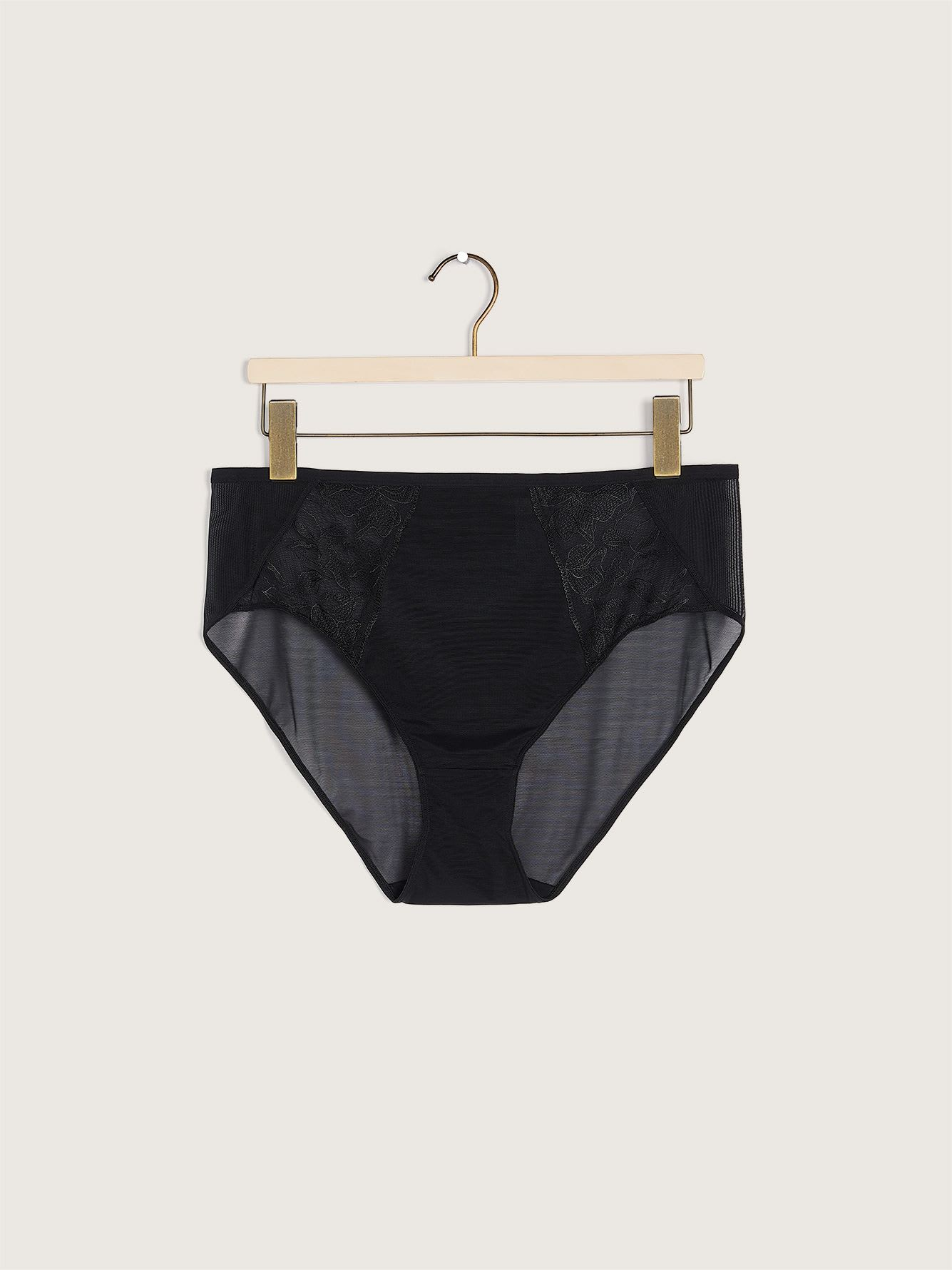 High Cut Panty with Mesh - Addition Elle
