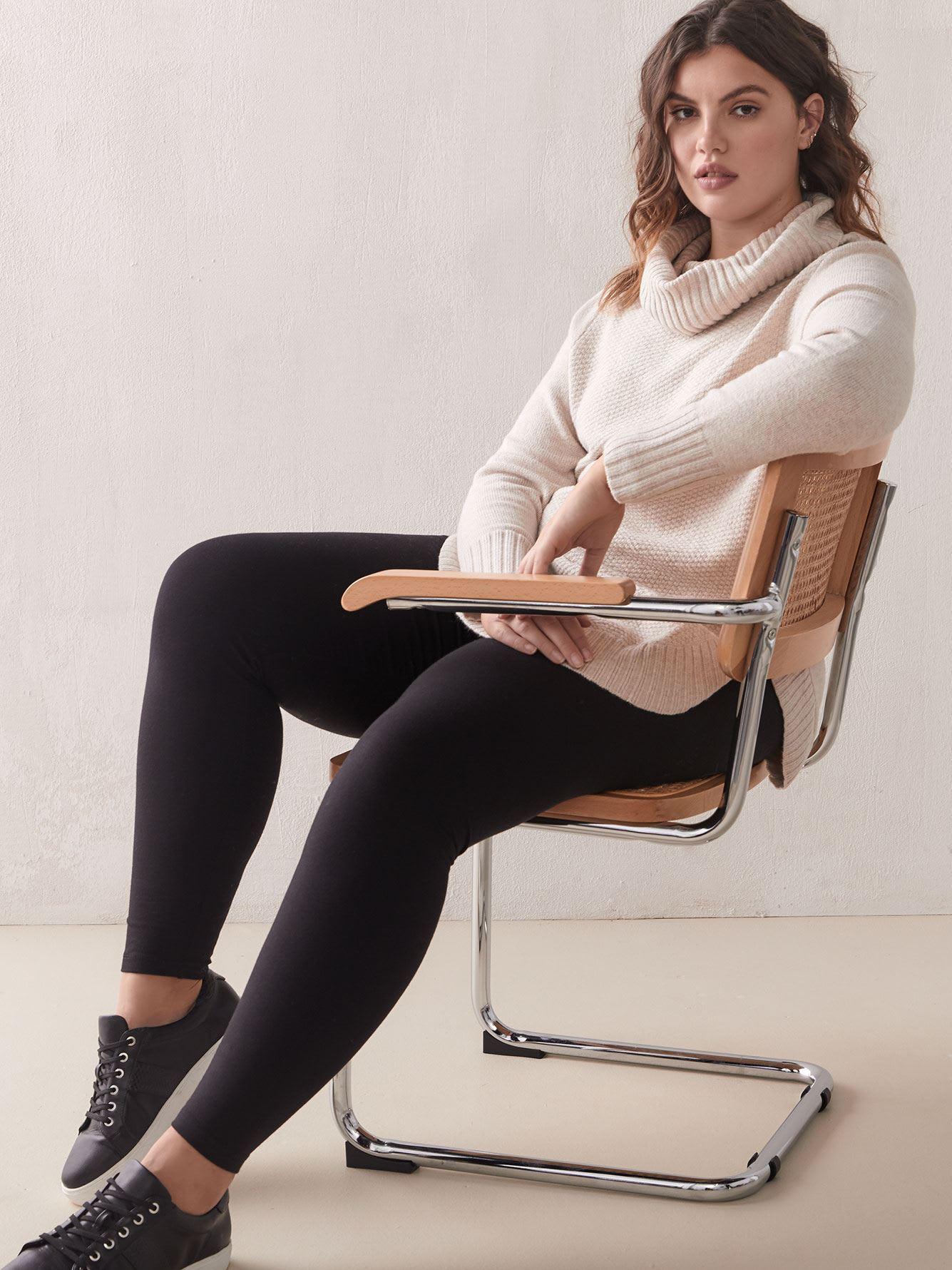 Basic Cotton Leggings - Hue