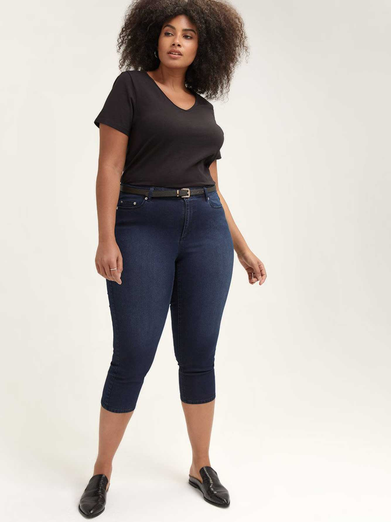 Super Soft Cropped Jegging - L&L