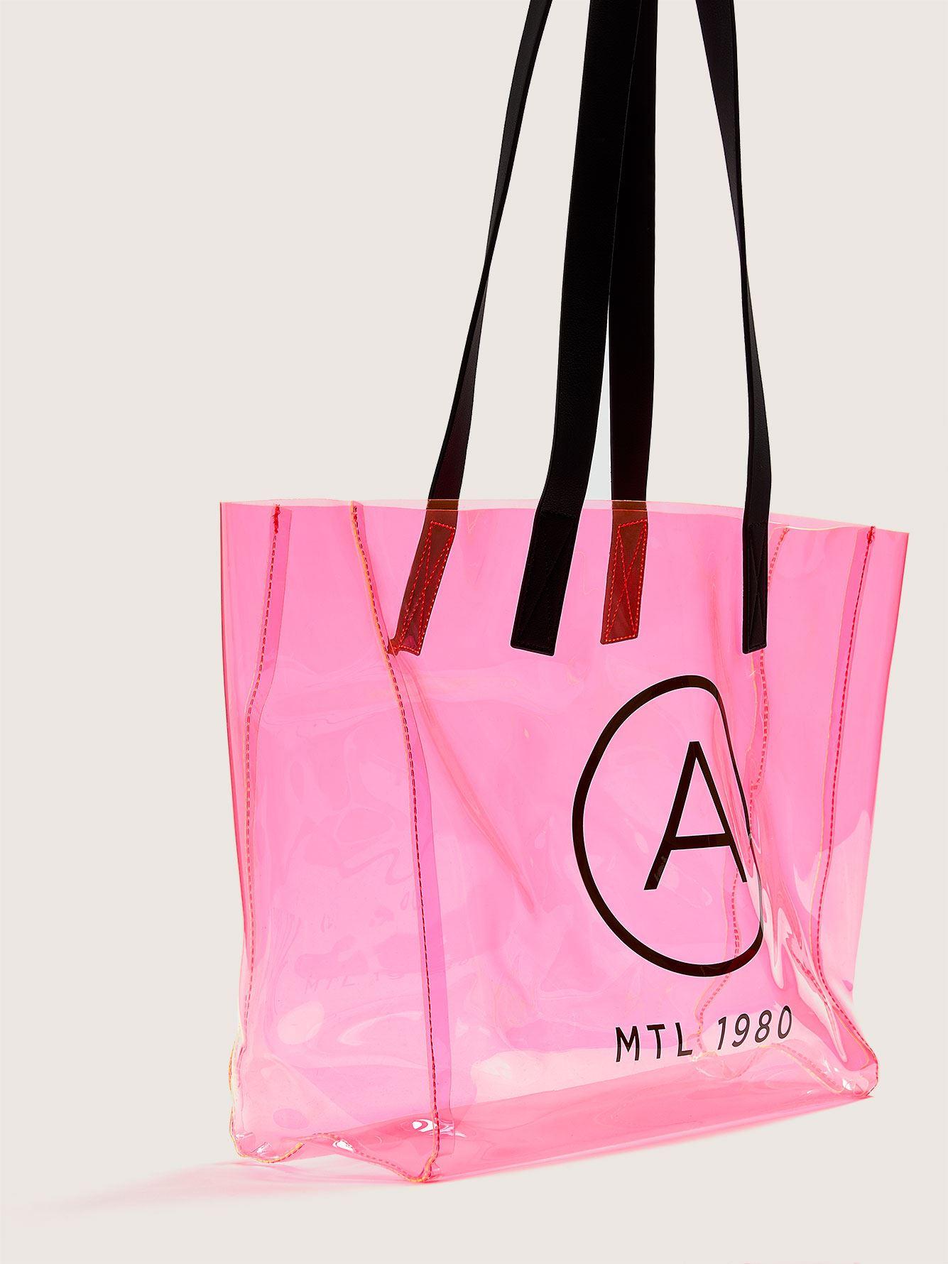 Translucent Neon Beach Bag - Addition Elle