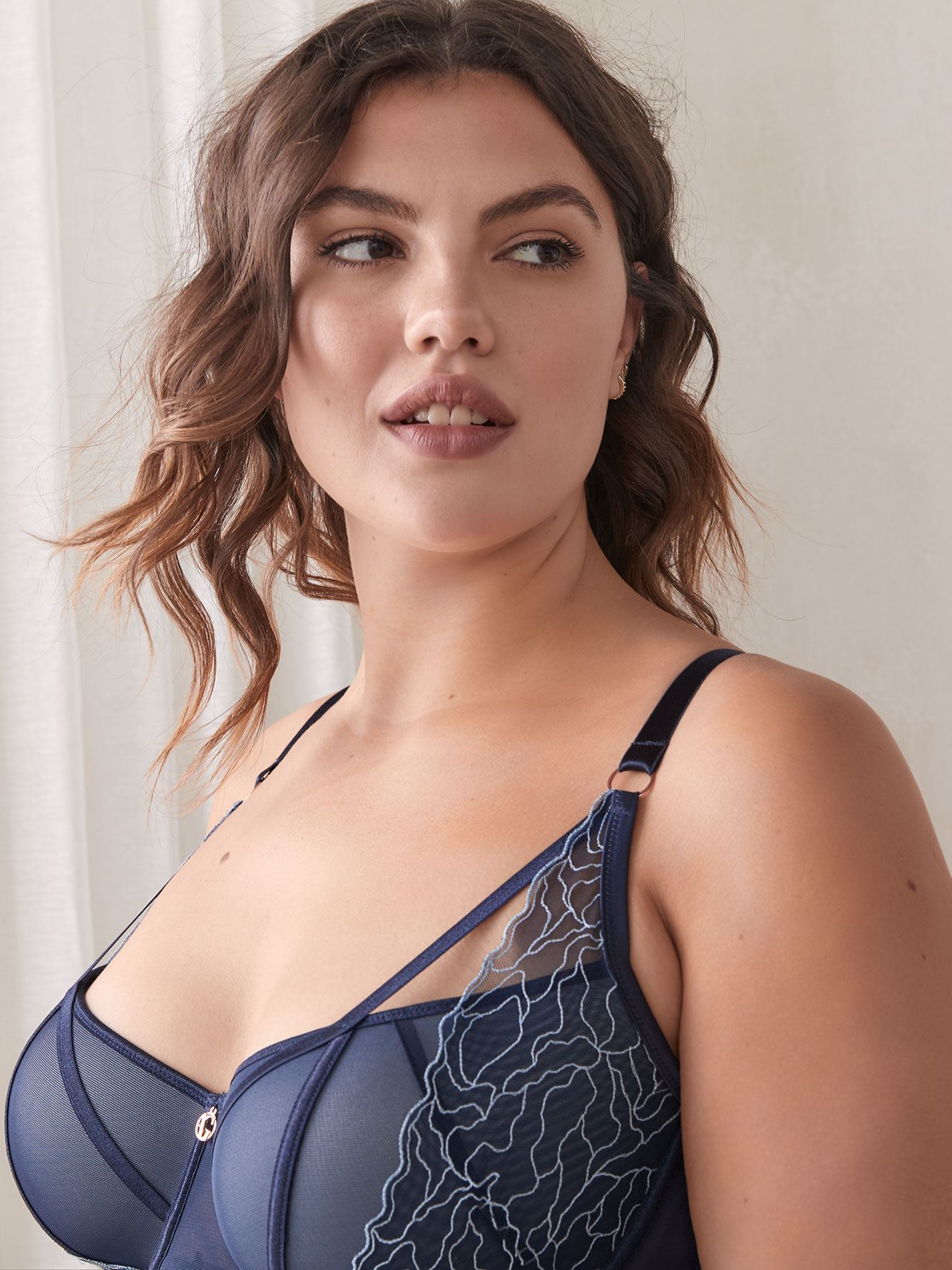 Babydoll with Diva Bra - Ashley Graham
