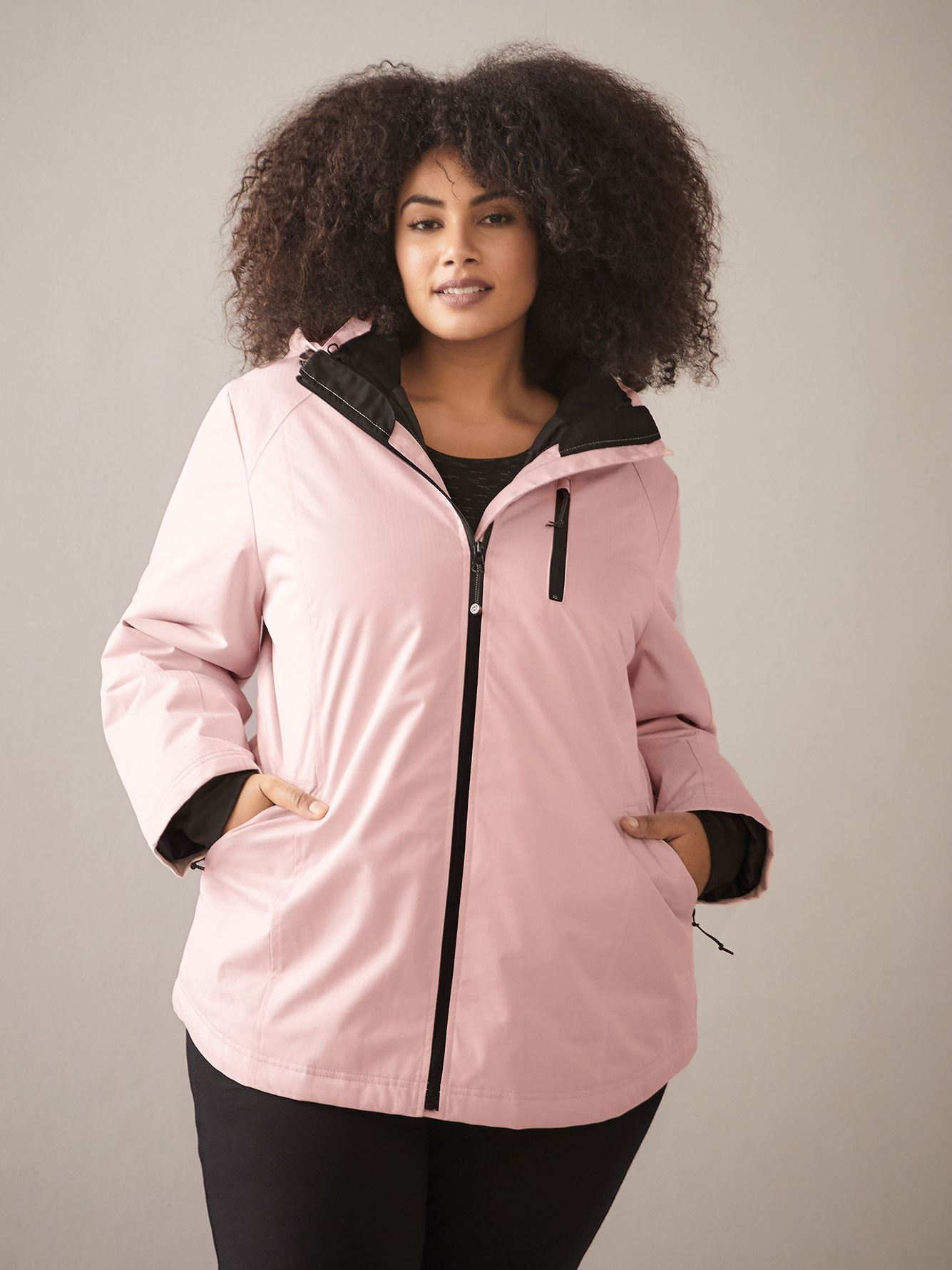 Plus Size 3-in-1 Ski Jacket - ActiveZone