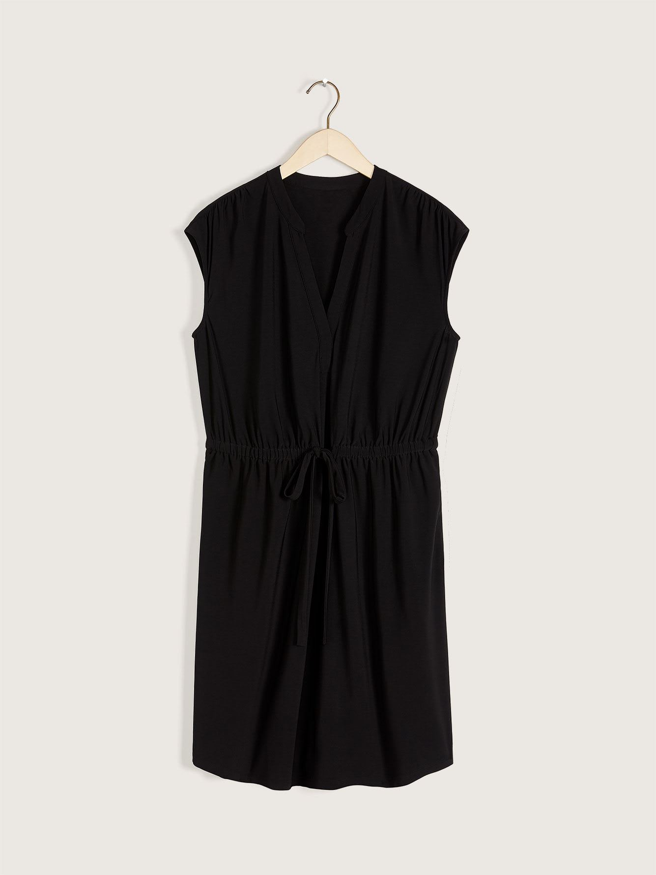 Dropped Shoulder Shirt Dress - Addition Elle