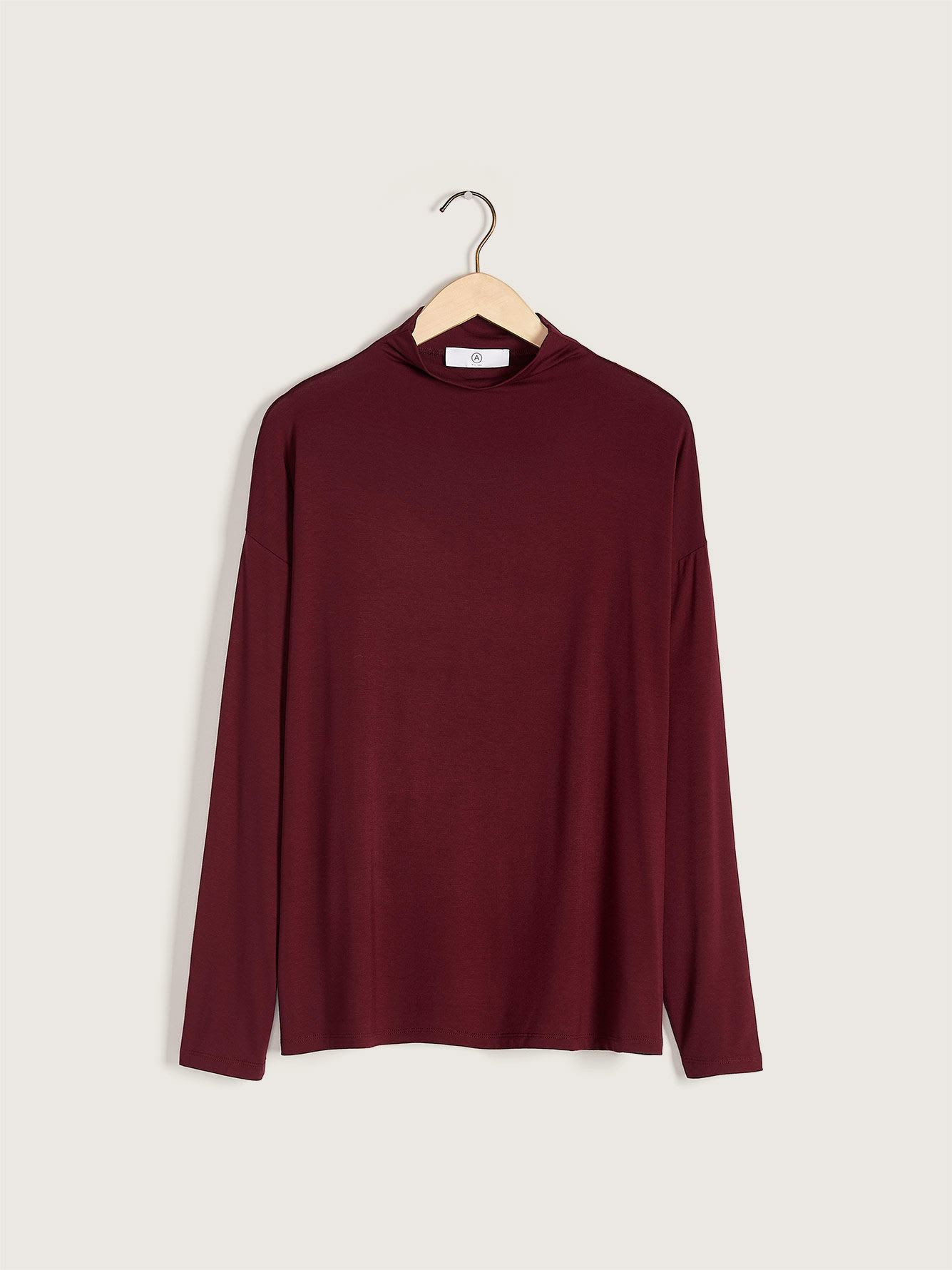 Mock-Neck Top - Addition Elle