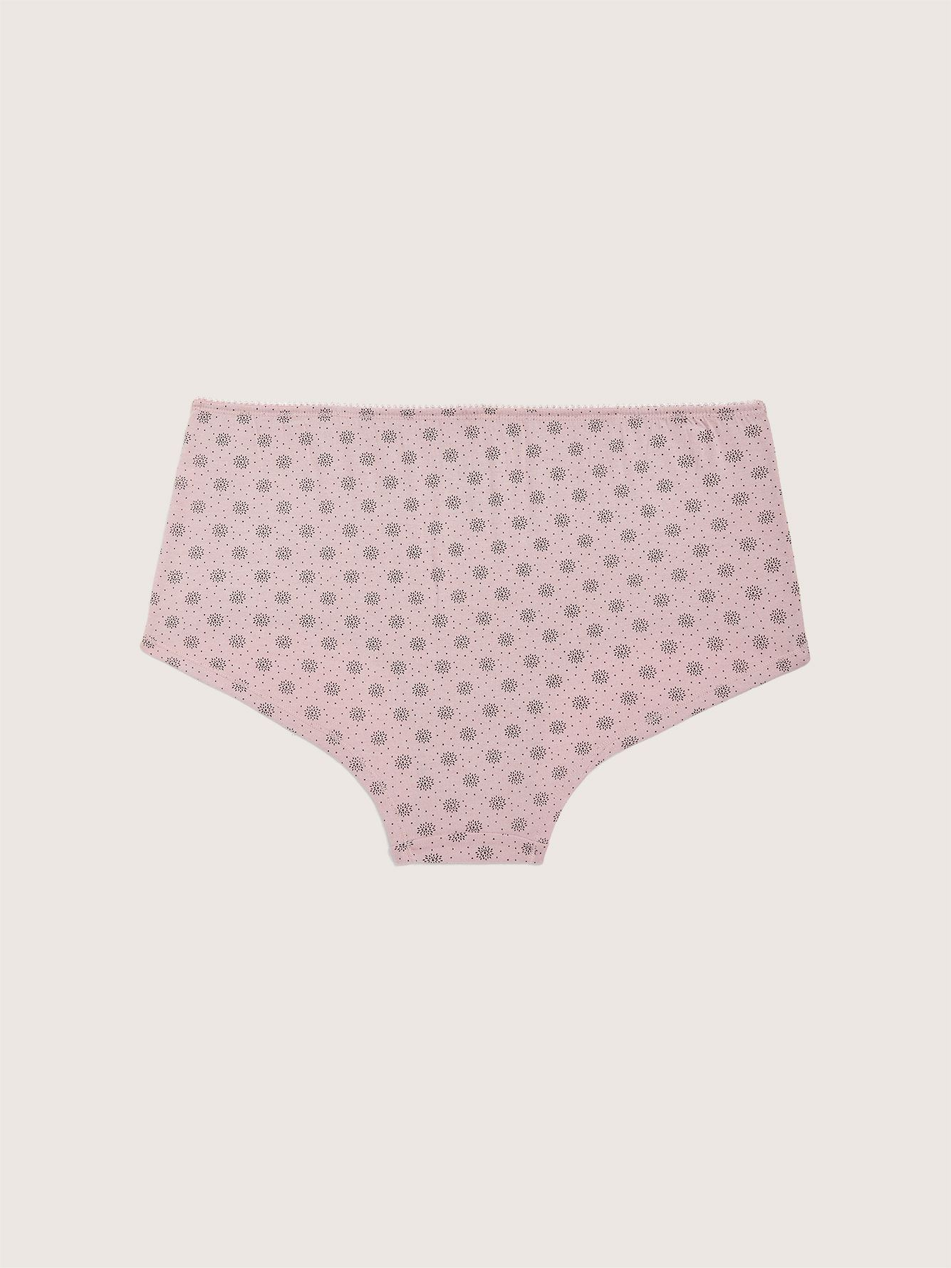 Printed Boyshort Panty with Elastic - ti Voglio