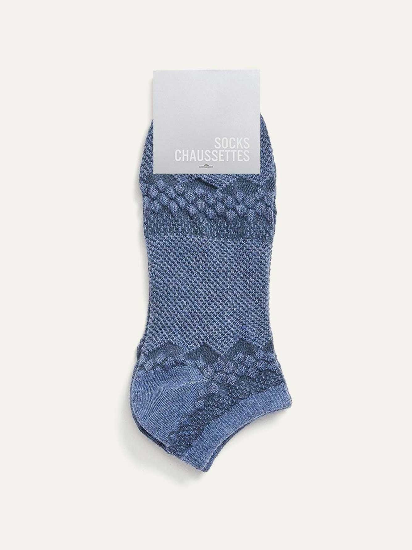 Pair of Solid Ankle Socks
