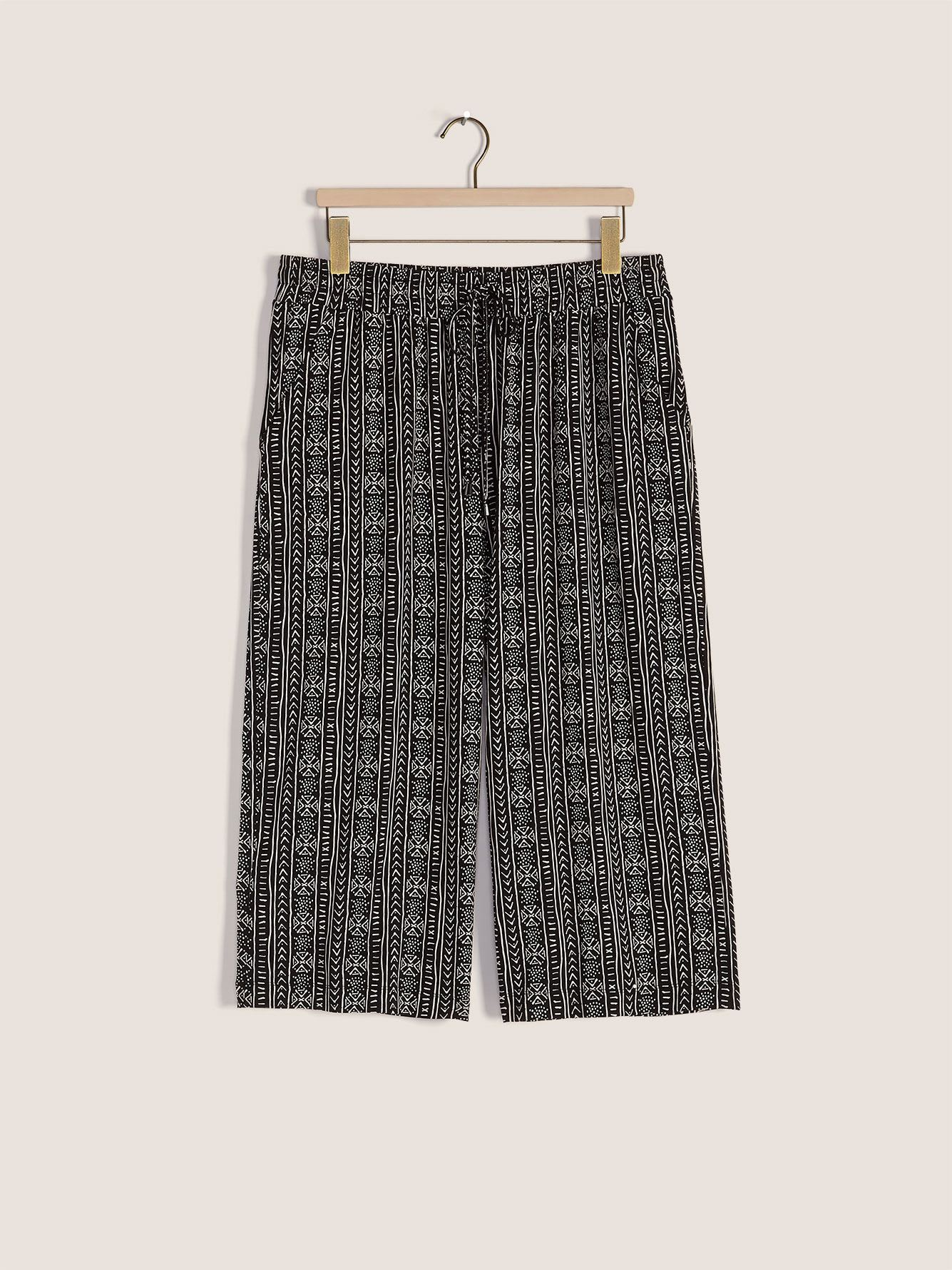 Printed Gaucho Pants - In Every Story