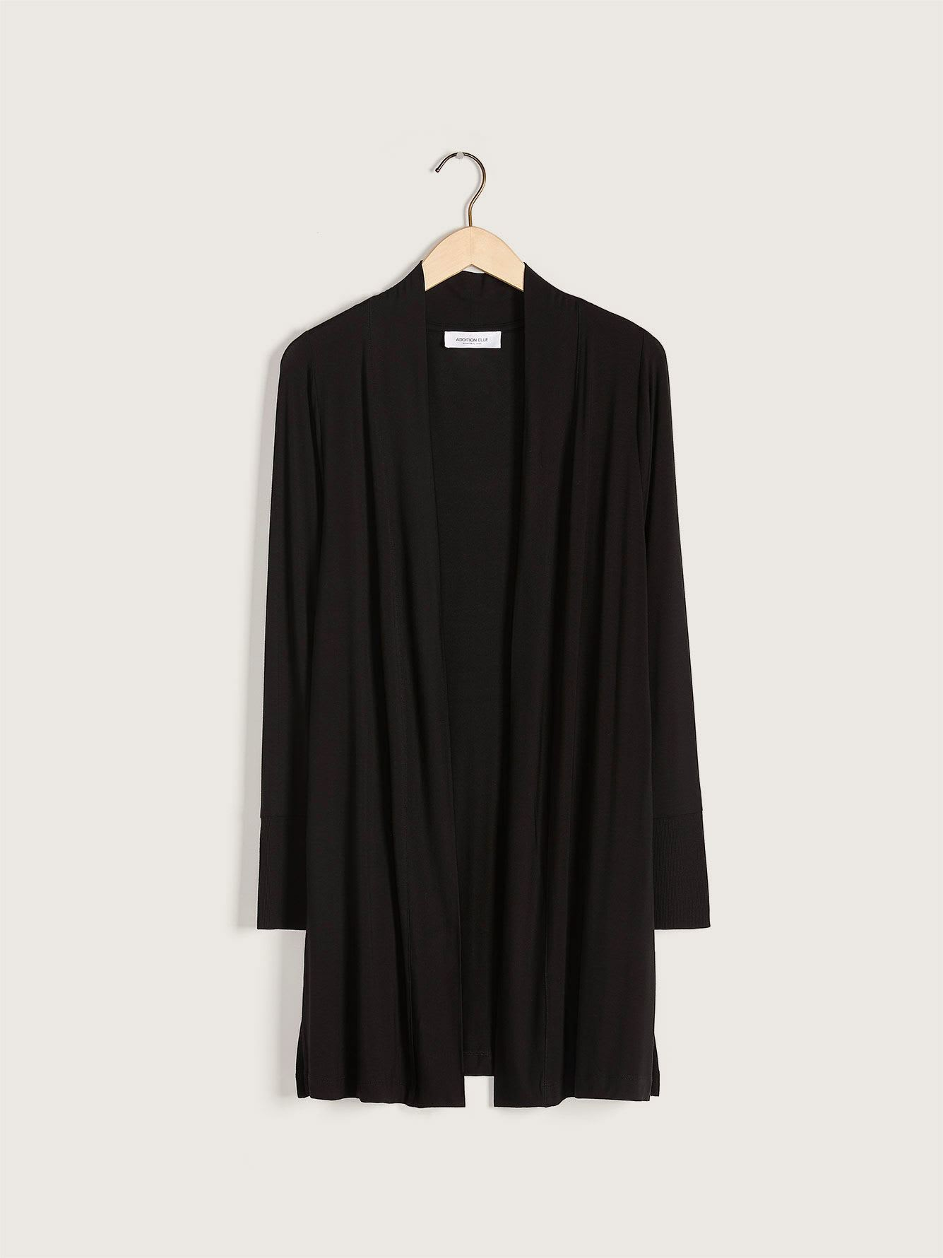 Long Jersey Cardigan - Addition Elle
