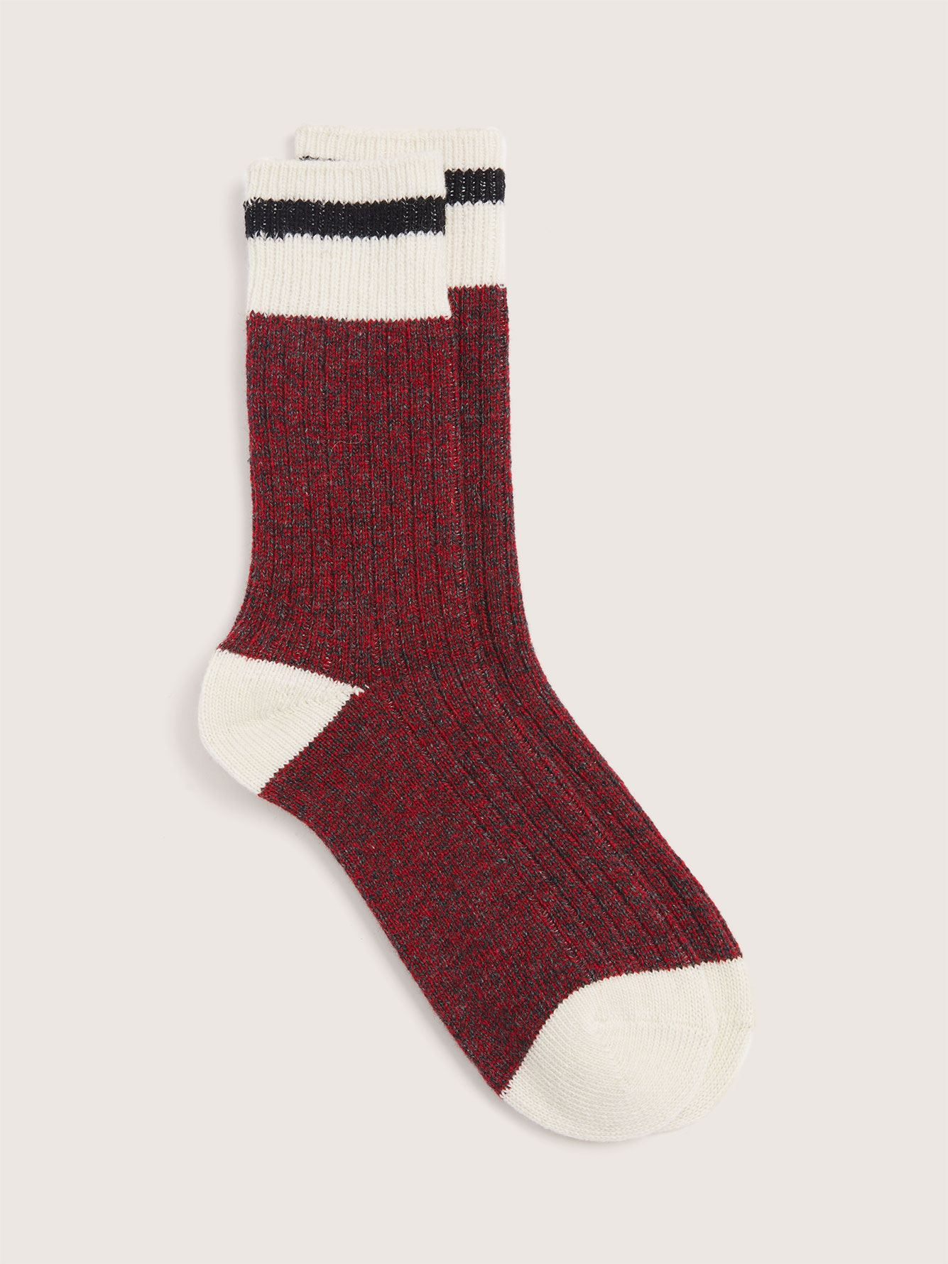 Wool-Blend Work Socks - Addition Elle