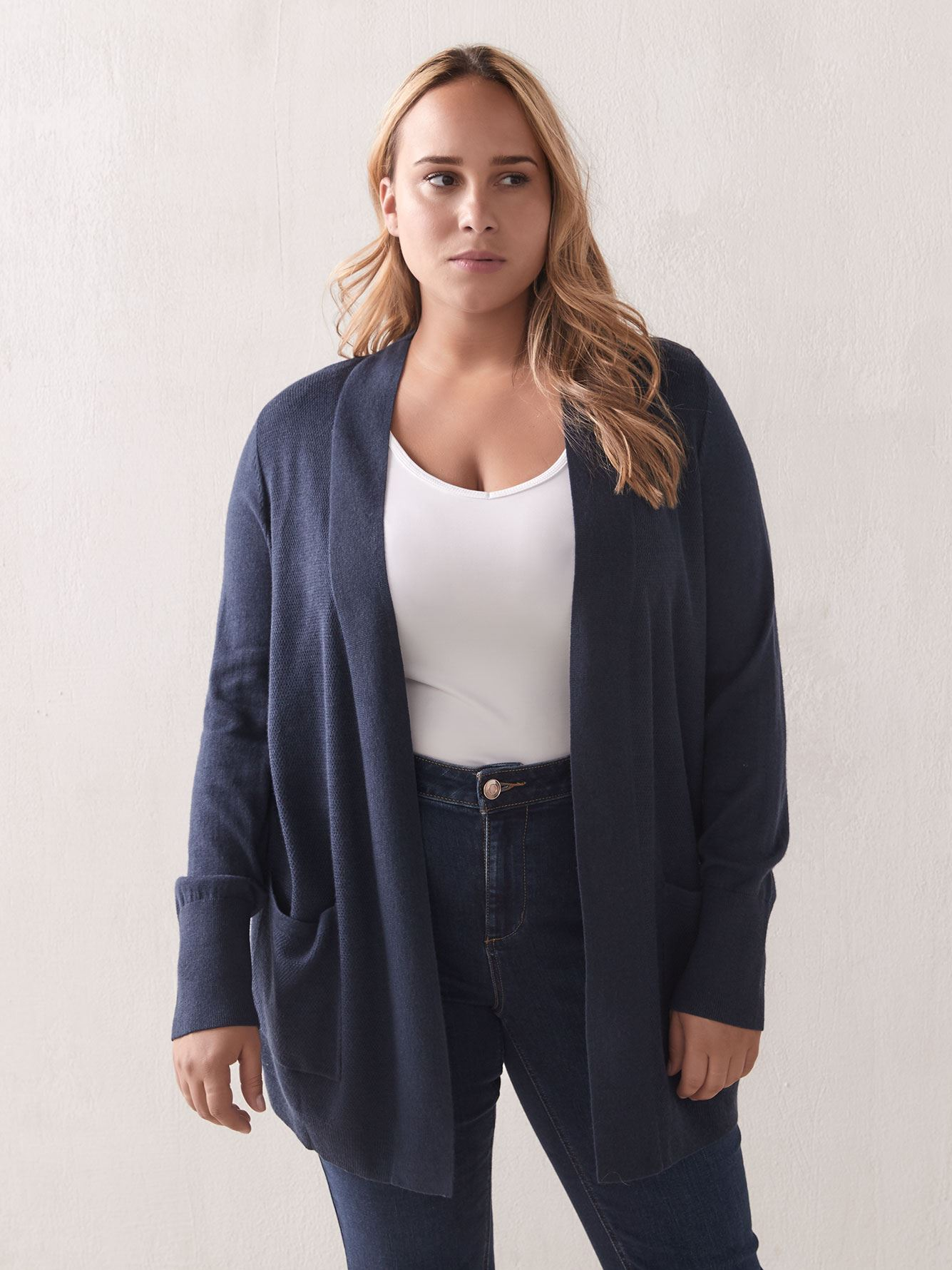 Edge To Edge Cardigan Sweater - Addition Elle