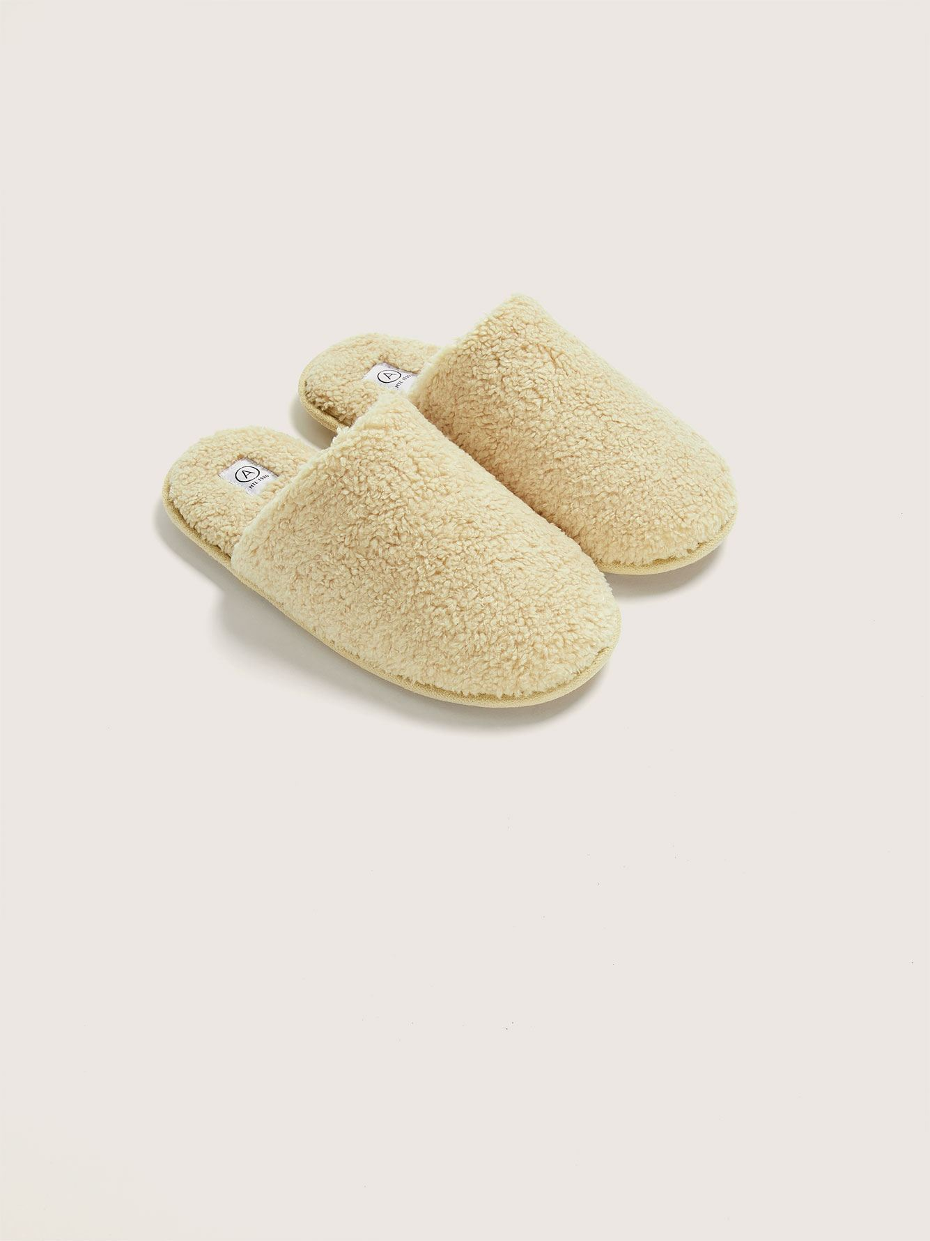 Faux Fur Slippers - Addition Elle