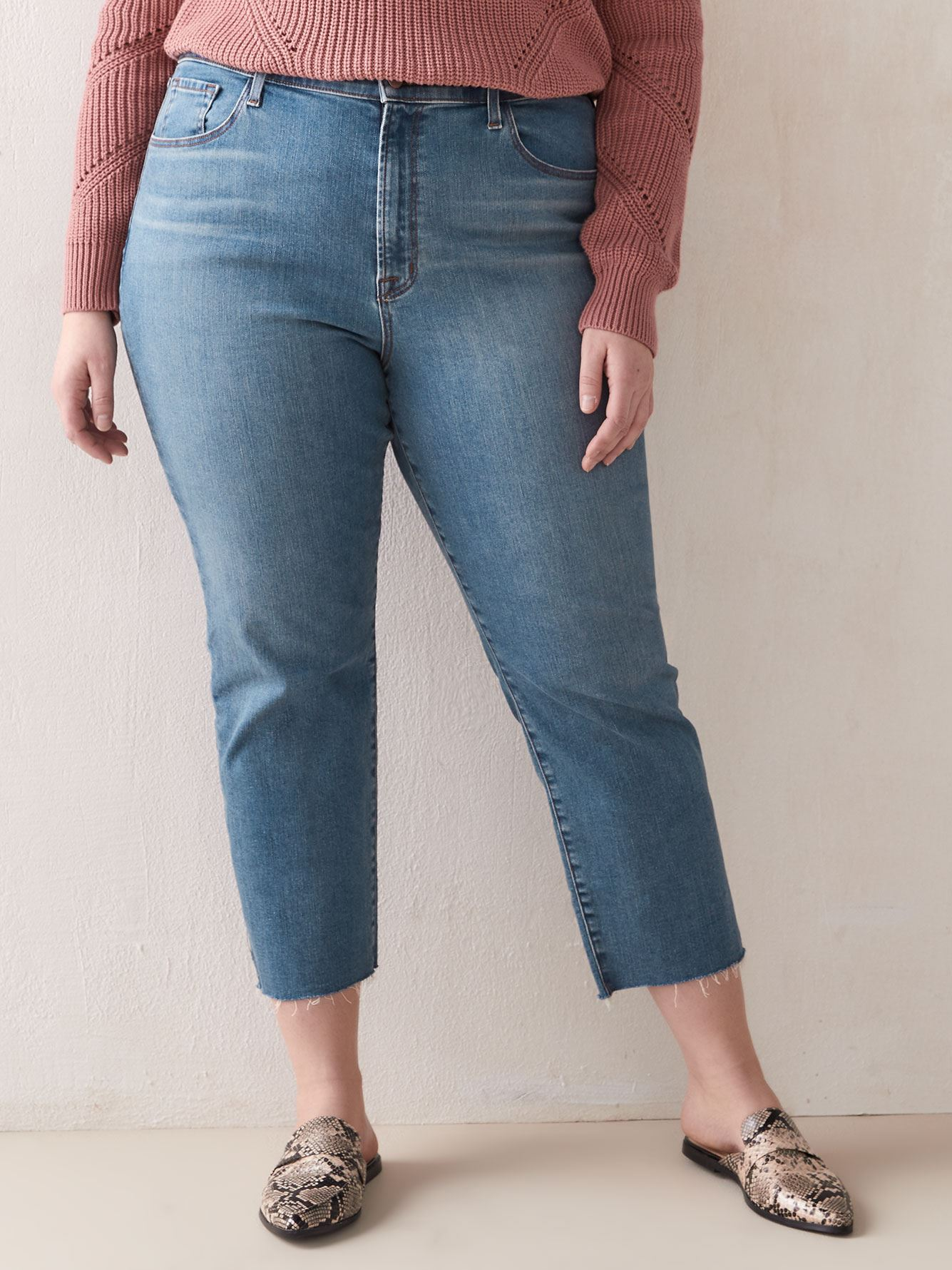Ruby High-Rise Cropped Cigarette Jean - J Brand