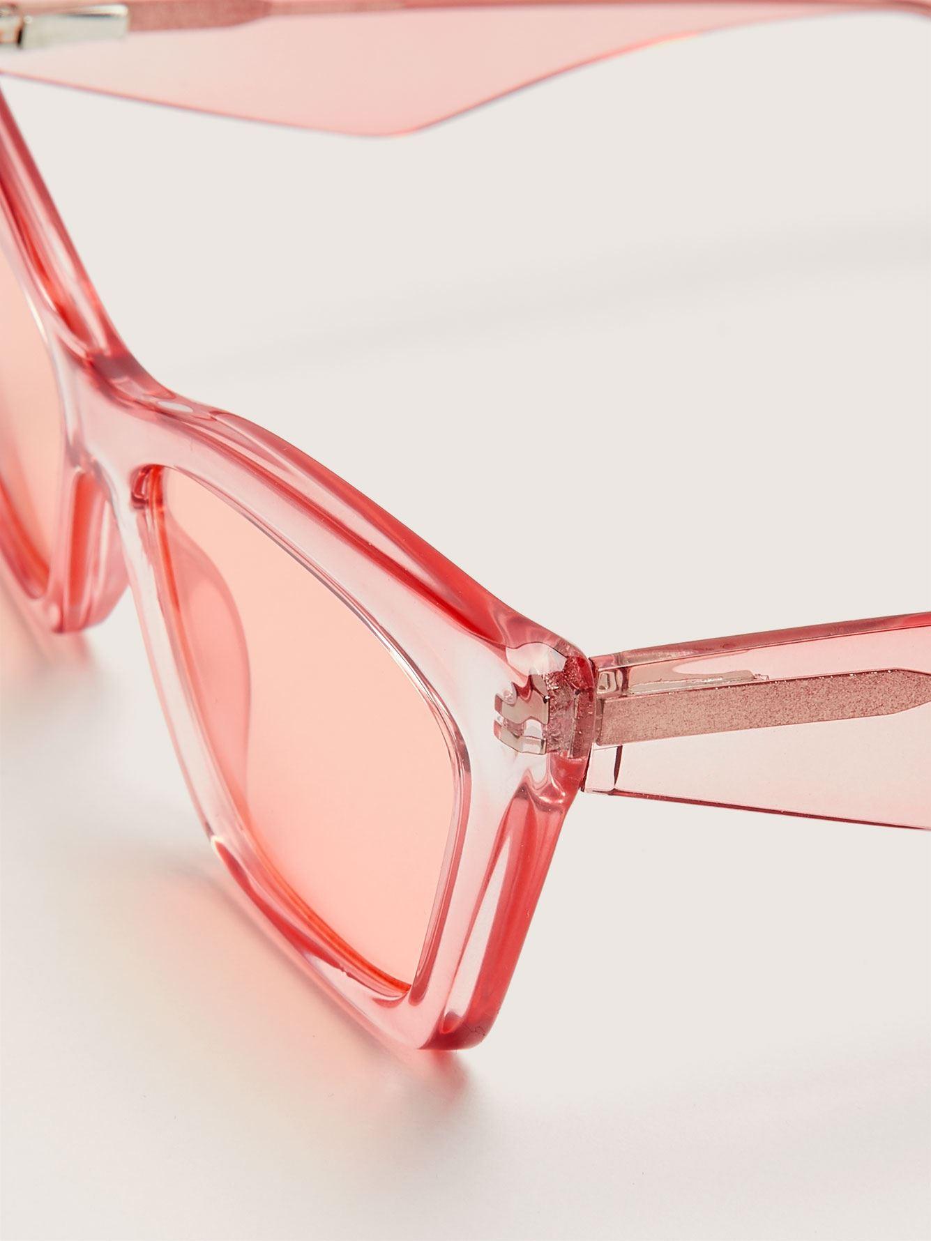 Retro Cat Eye Sunglasses - Addition Elle