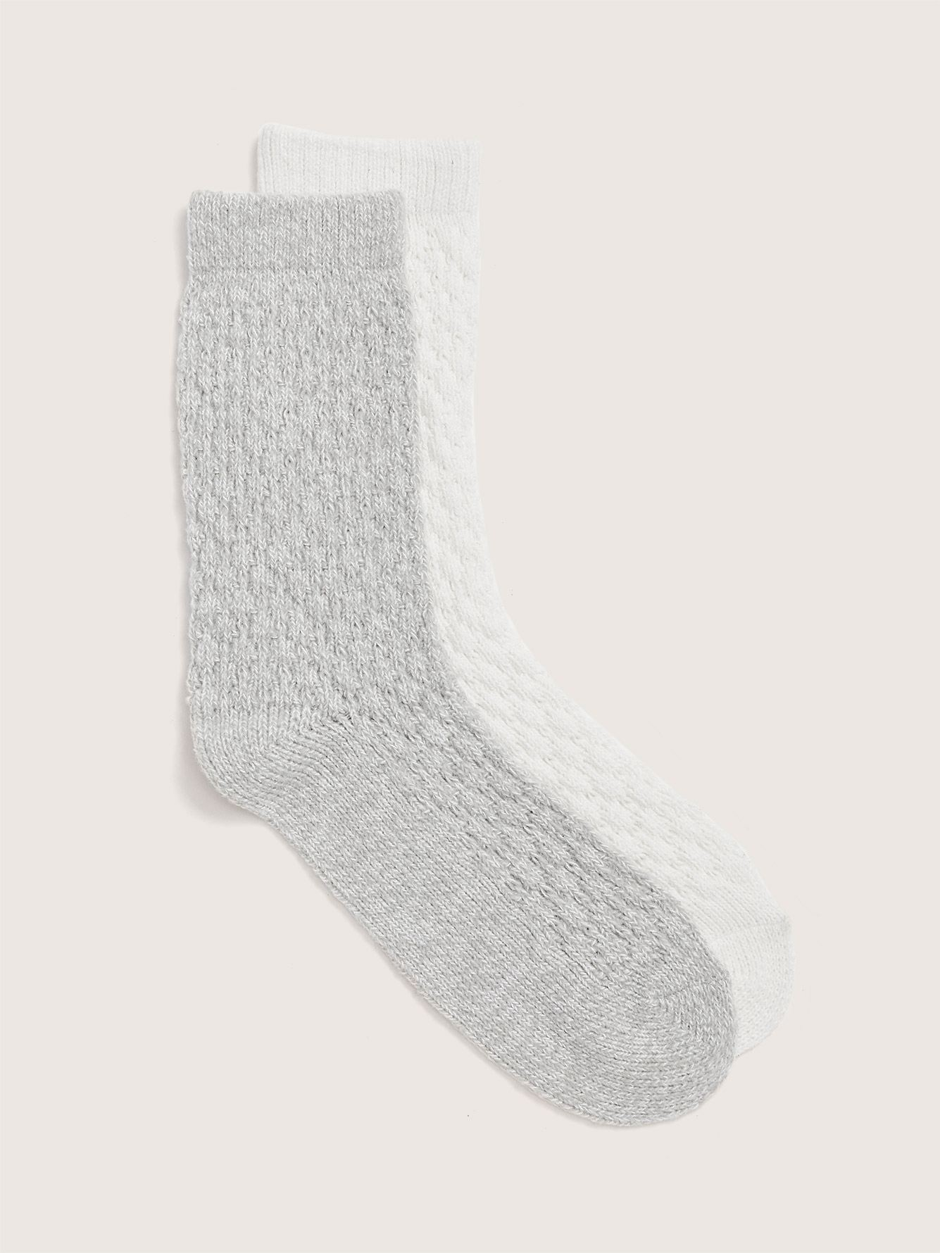 Soft Cozy Socks, 2-Pack - Addition Elle
