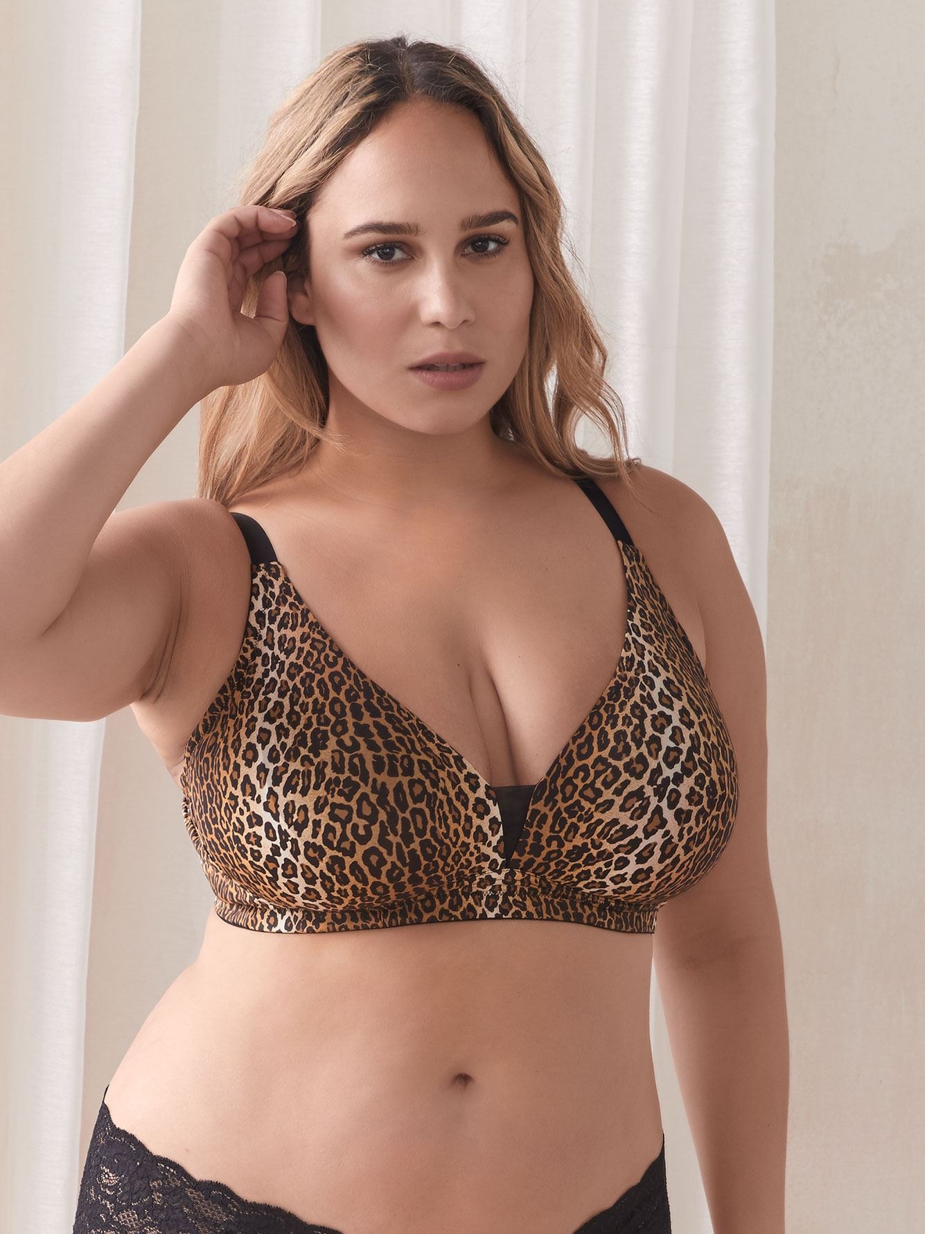 Bralette Evolution convertible à imprimé animal - Cosabella