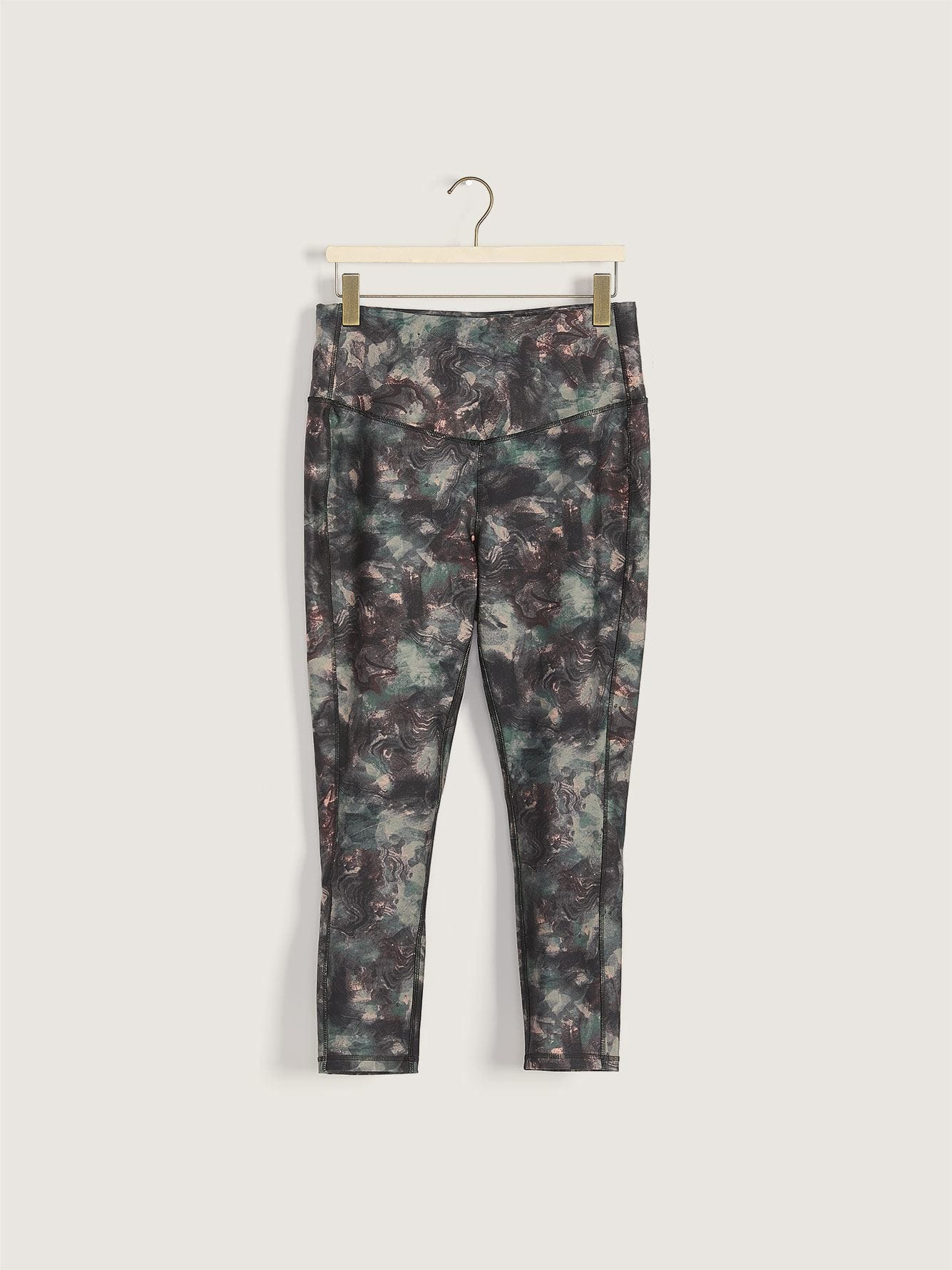 Printed High Waist Legging - Addition Elle