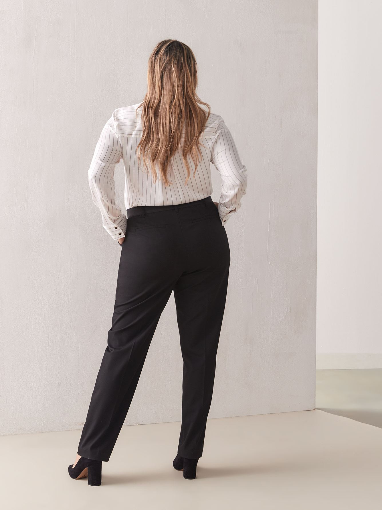 Pull-On Ankle Pant - Addition Elle