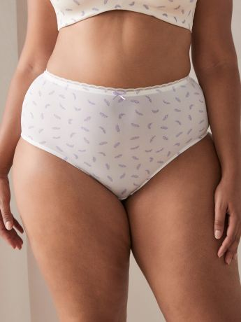 Printed Brief Panty