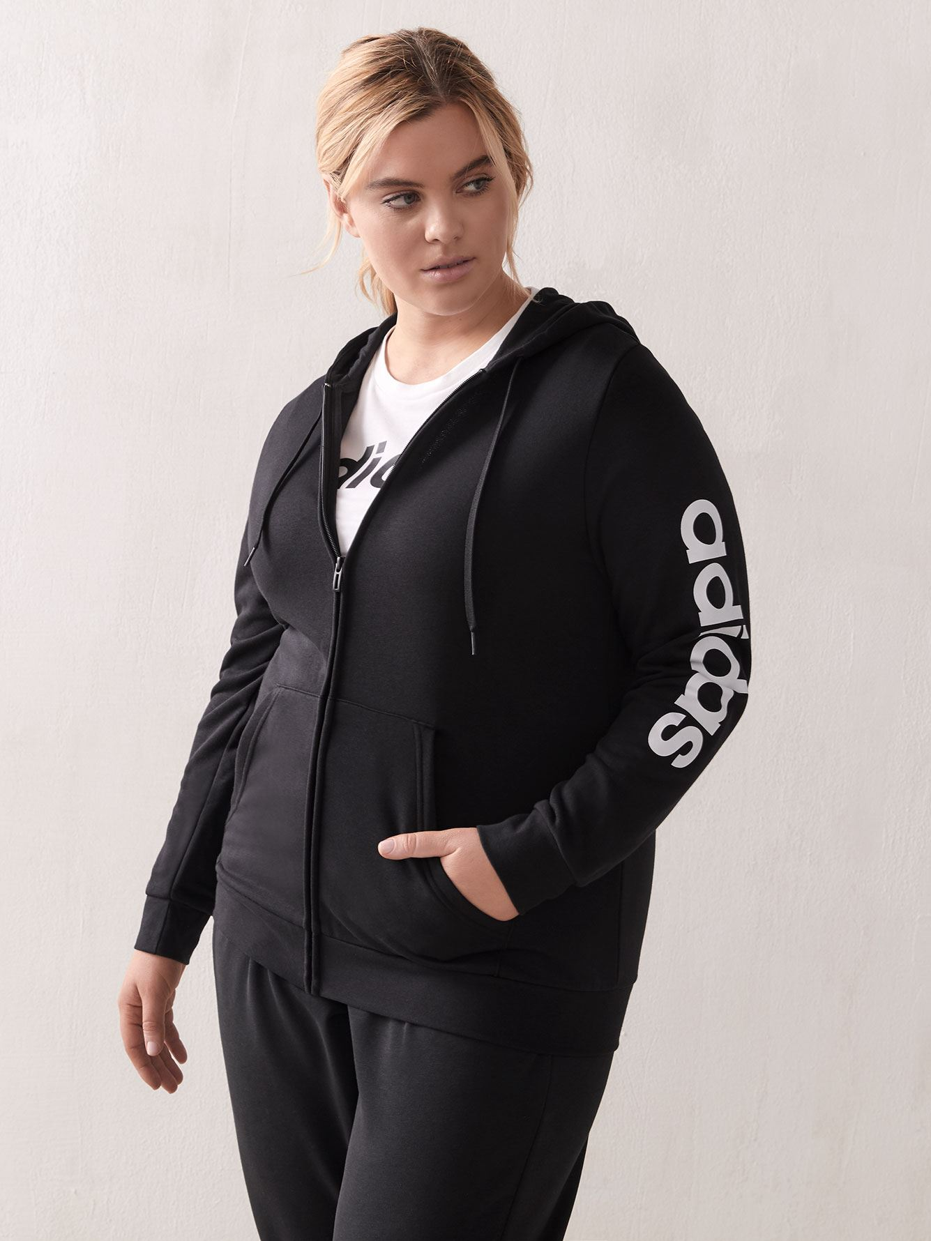 Essential Zip-Up Hoodie - adidas